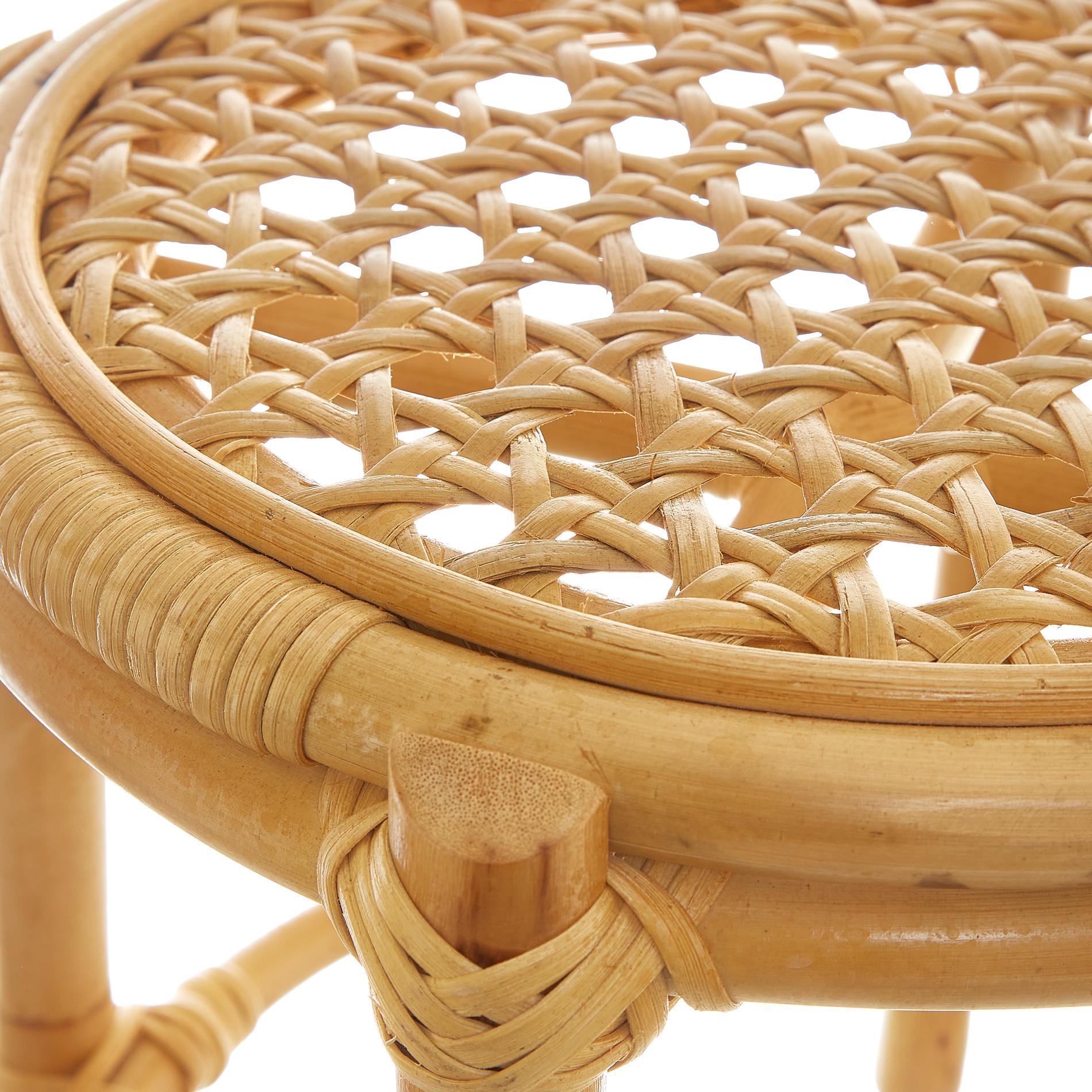 Tavolino rattan Pojok, Beige, large image number 1