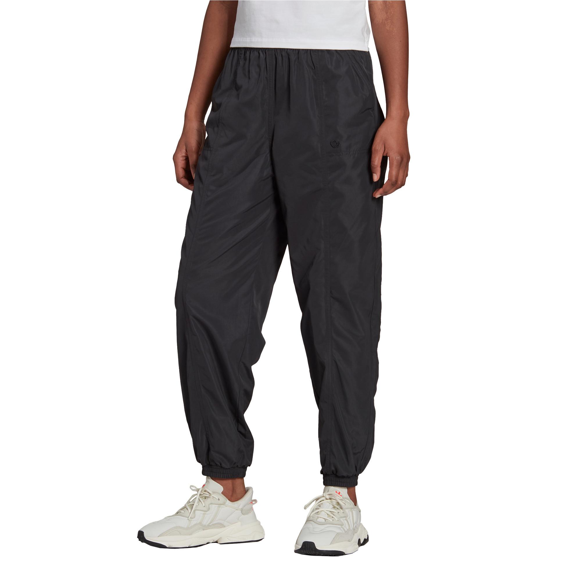 Track pants adicolor Nylon, Nero, large image number 2