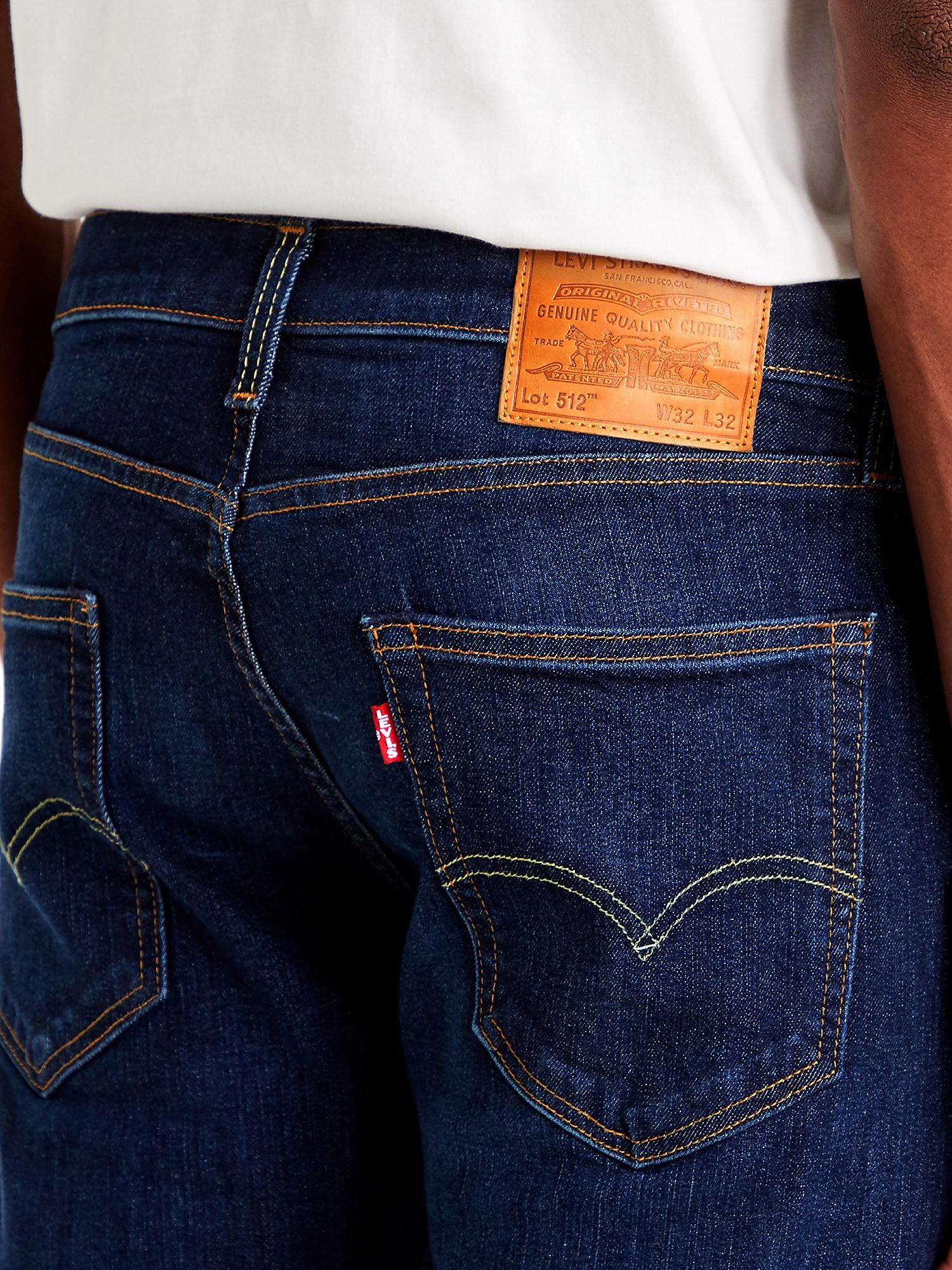Jeans 5 tasche 512 Slim Taper, Denim, large image number 9