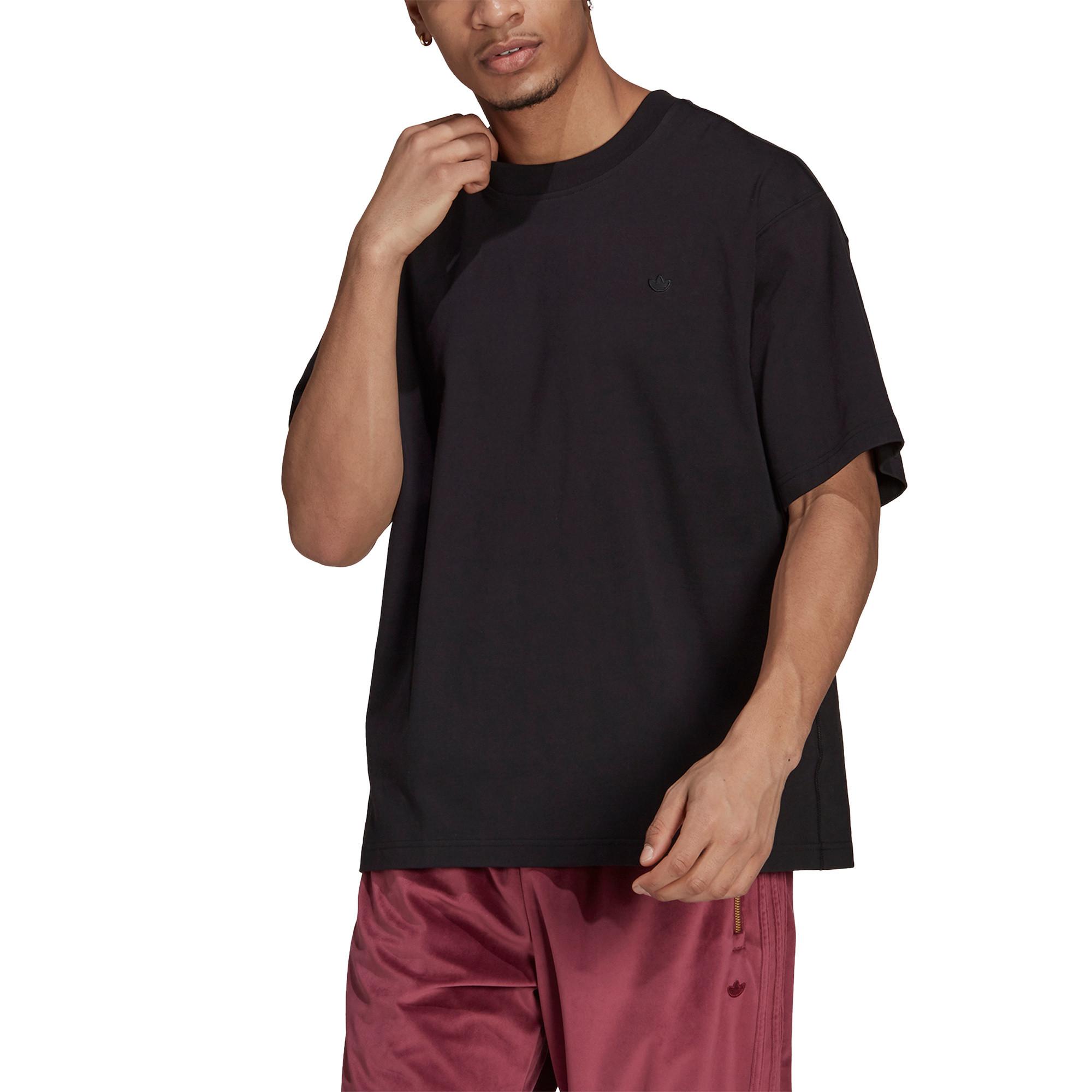 T-shirt uomo adicolor Trefoil, Nero, large image number 3