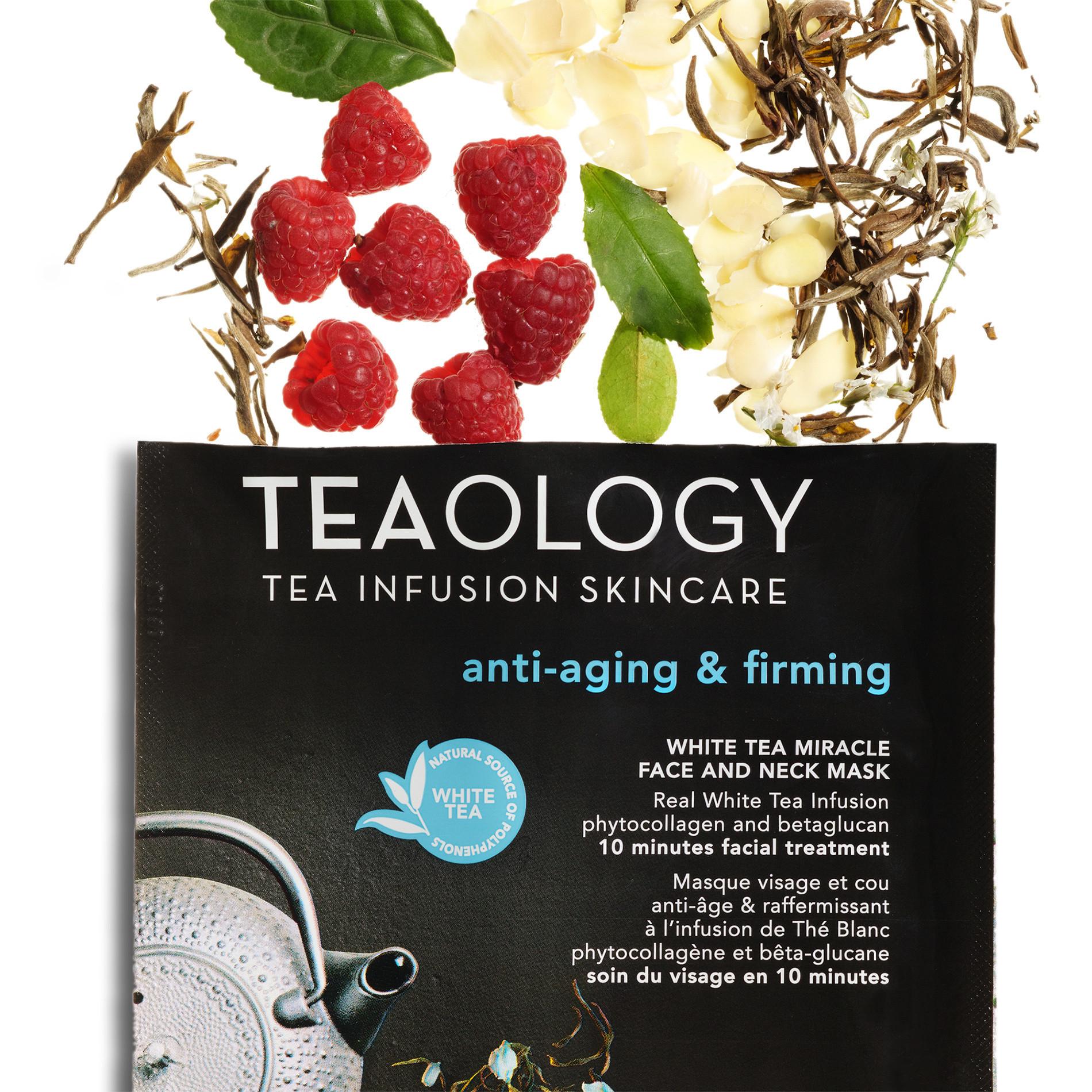 White Tea Miracle Maschera Viso e Collo Anti-aging  30 ml, Nero, large image number 2