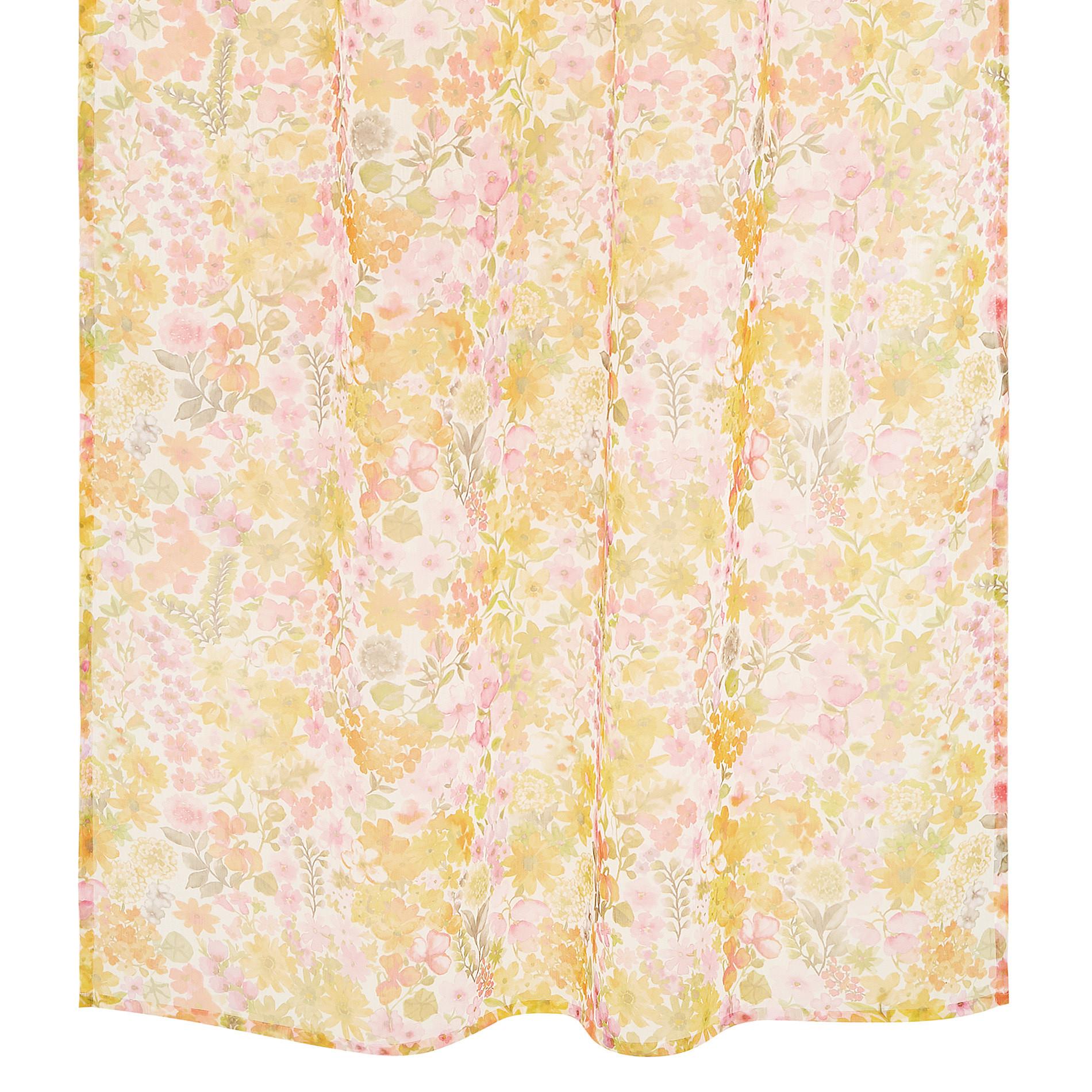 Tenda stampa floreale passanti nascosti, Multicolor, large image number 0