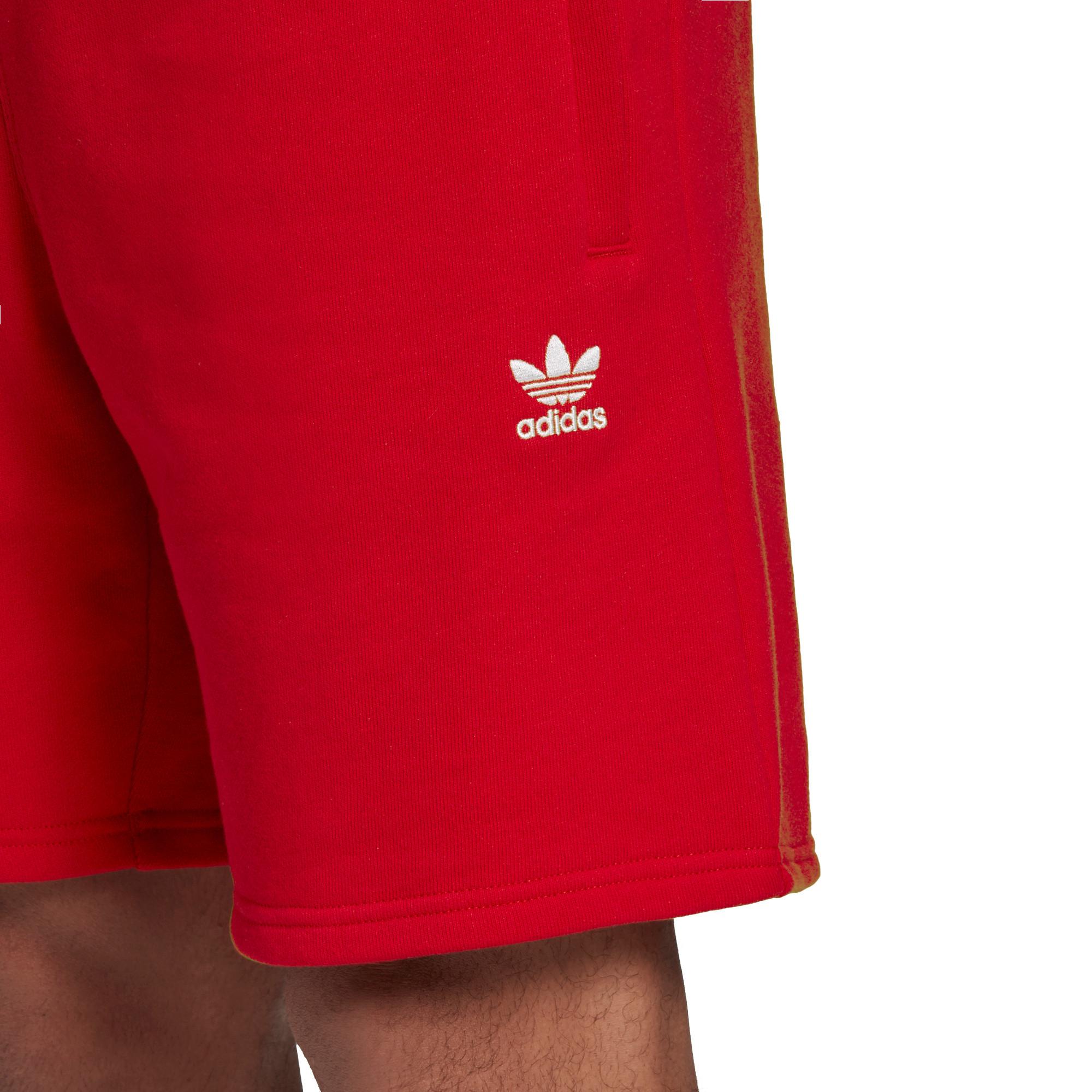Short loungewear trefoil Essentials, Rosso, large image number 3