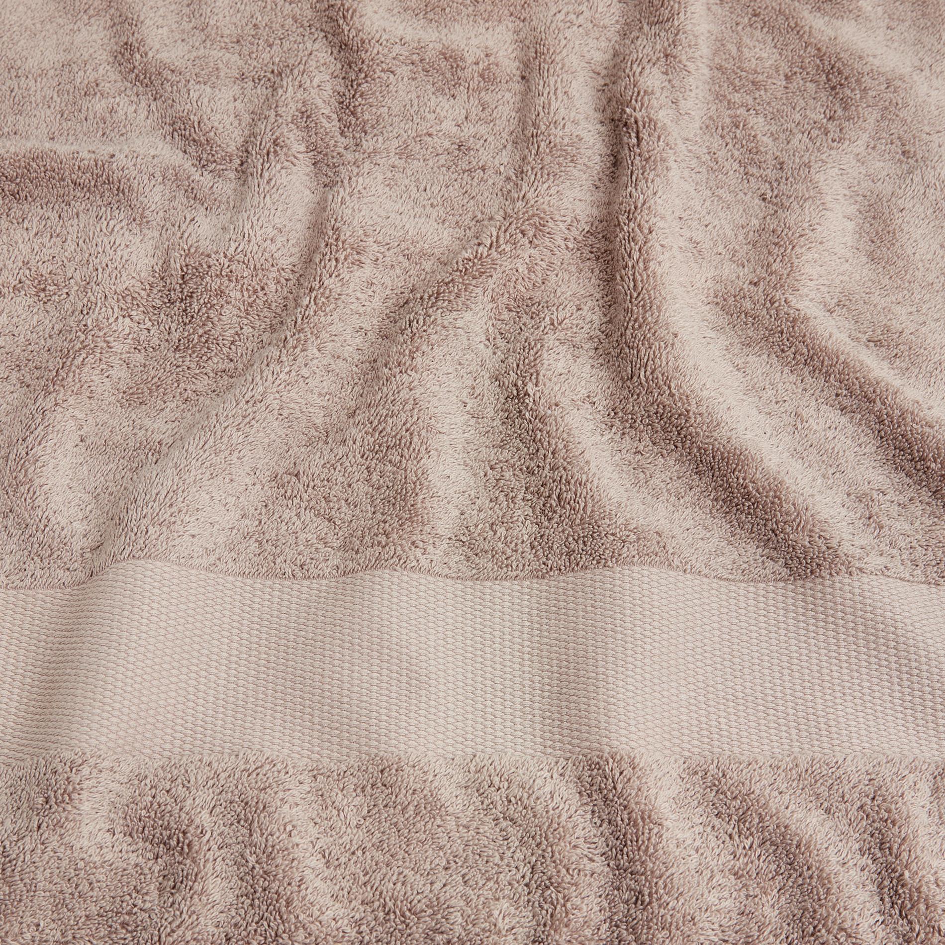 Asciugamano spugna di puro cotone Zefiro, Marrone, large image number 3