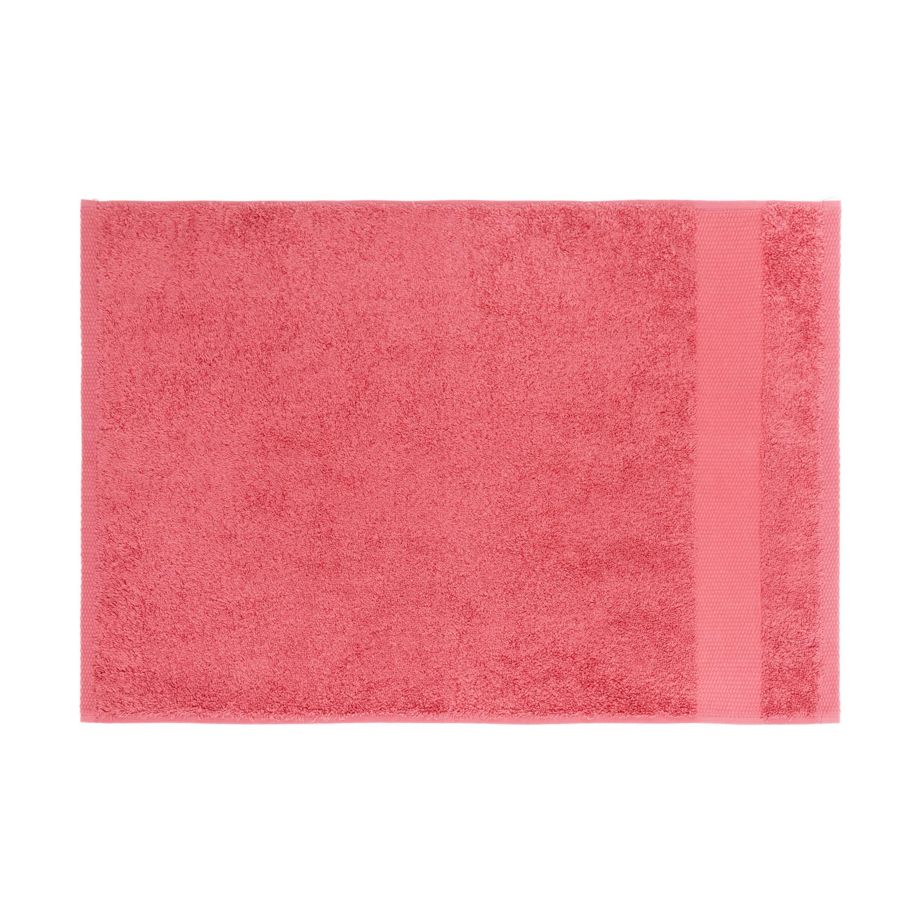 Asciugamano spugna di puro cotone Zefiro, Rosso fragola, large image number 2