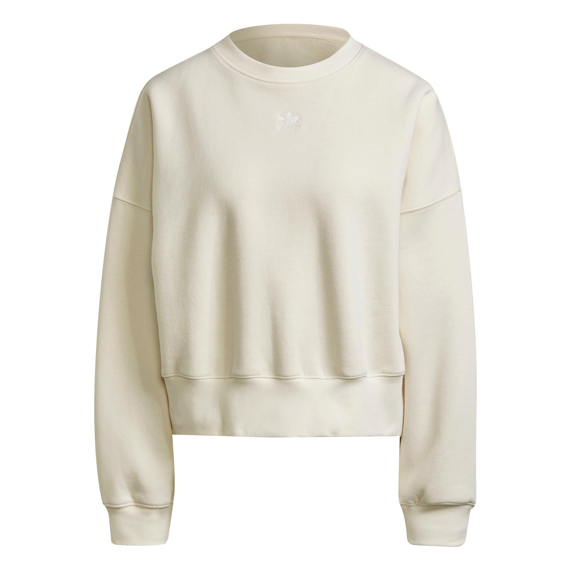 Felpa adicolor Essentials Fleece, Bianco, large image number 0