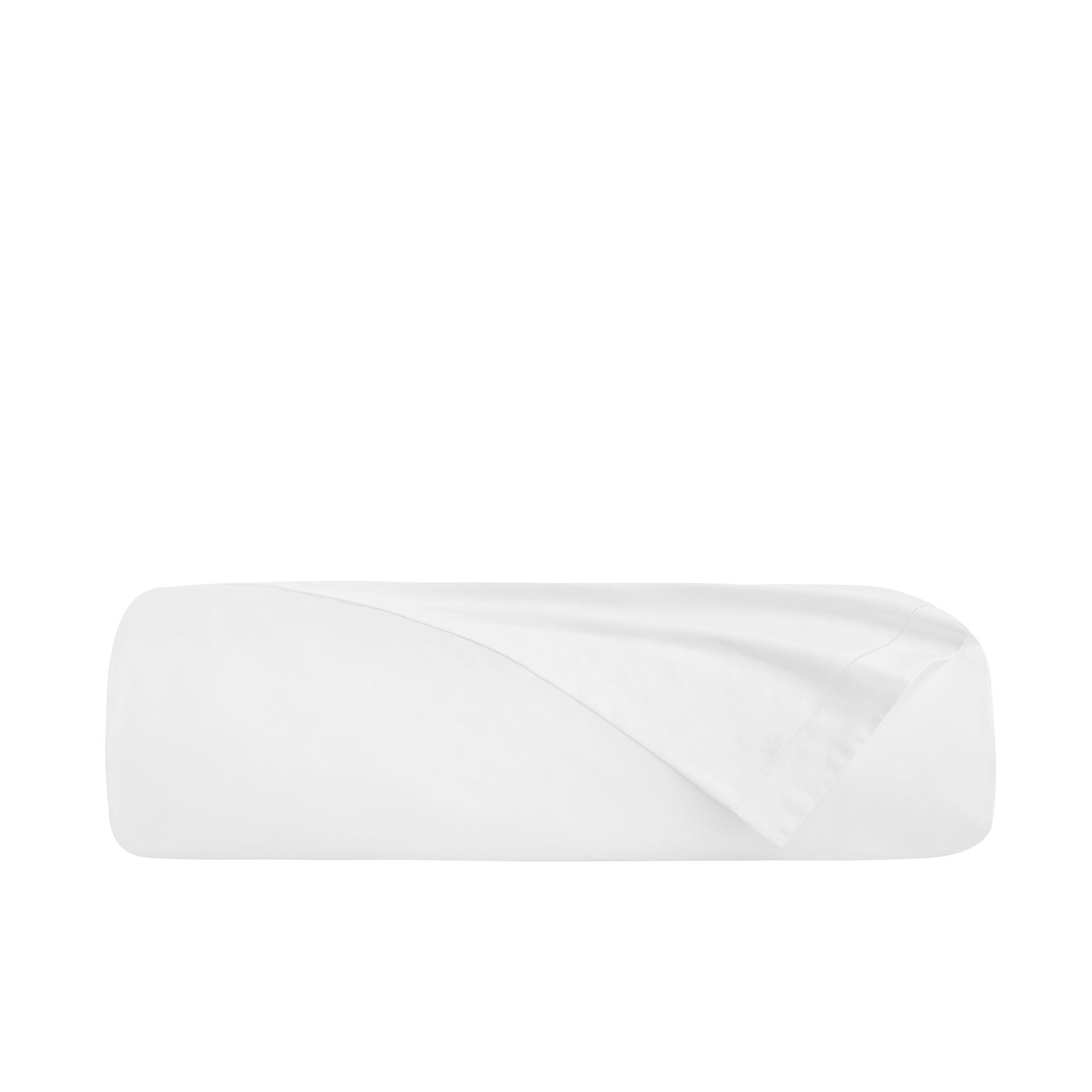 Lenzuolo liscio raso alta qualità Interno 11, Bianco, large image number 3