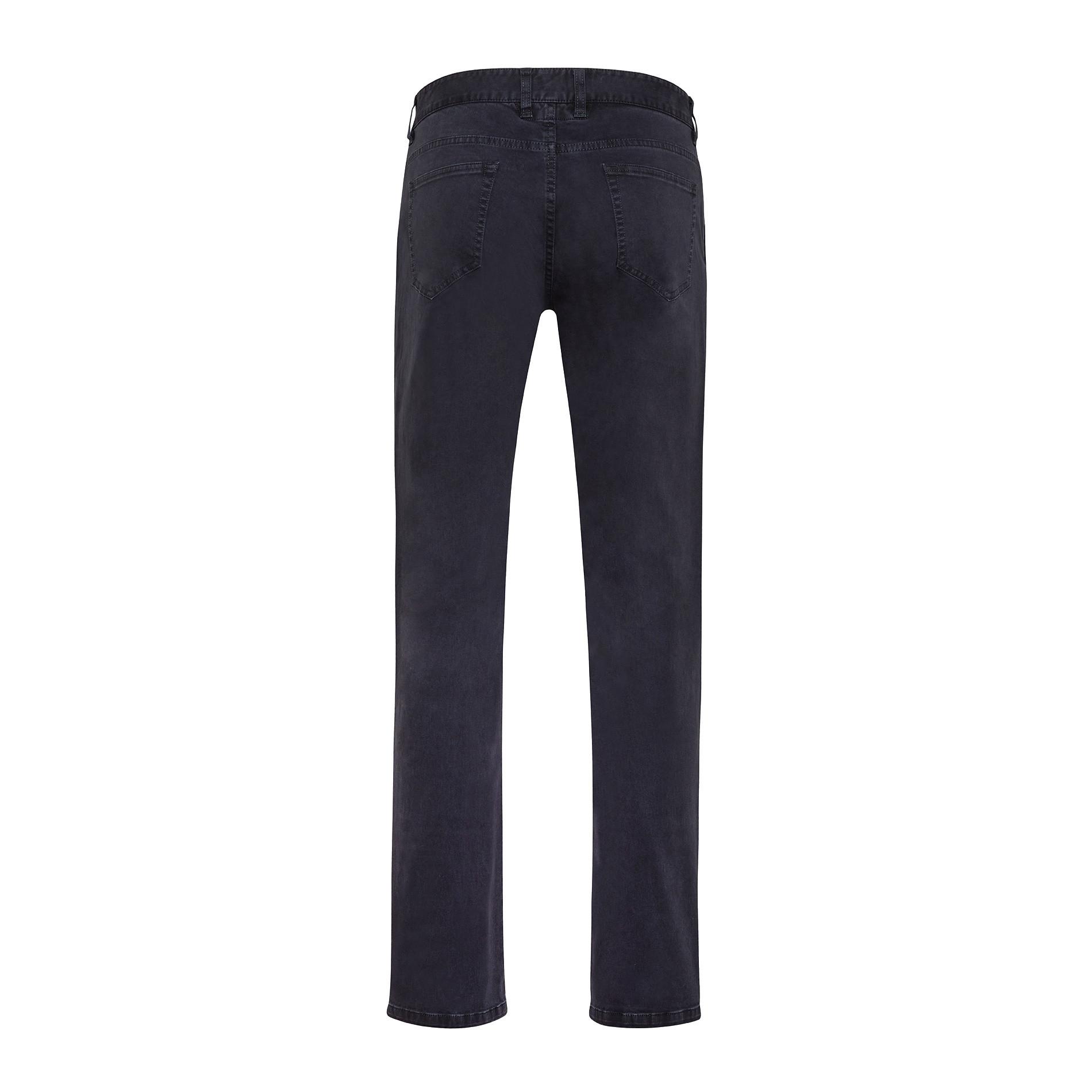 Pantaloni chino in tessuto stretch, Blu scuro, large image number 0