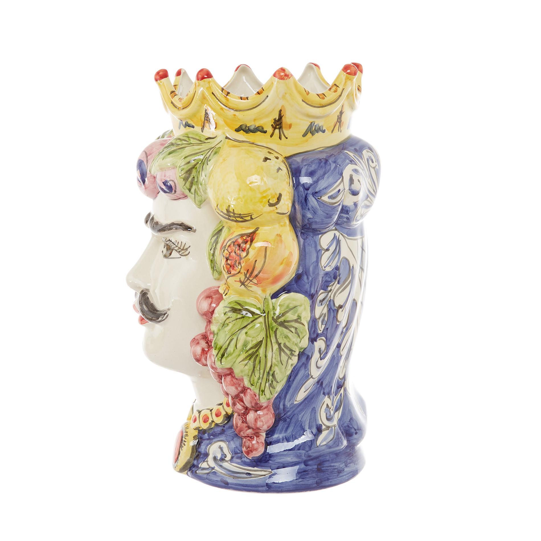 Testa di moro tradizionale by Ceramiche Siciliane Ruggeri, Multicolor, large image number 2