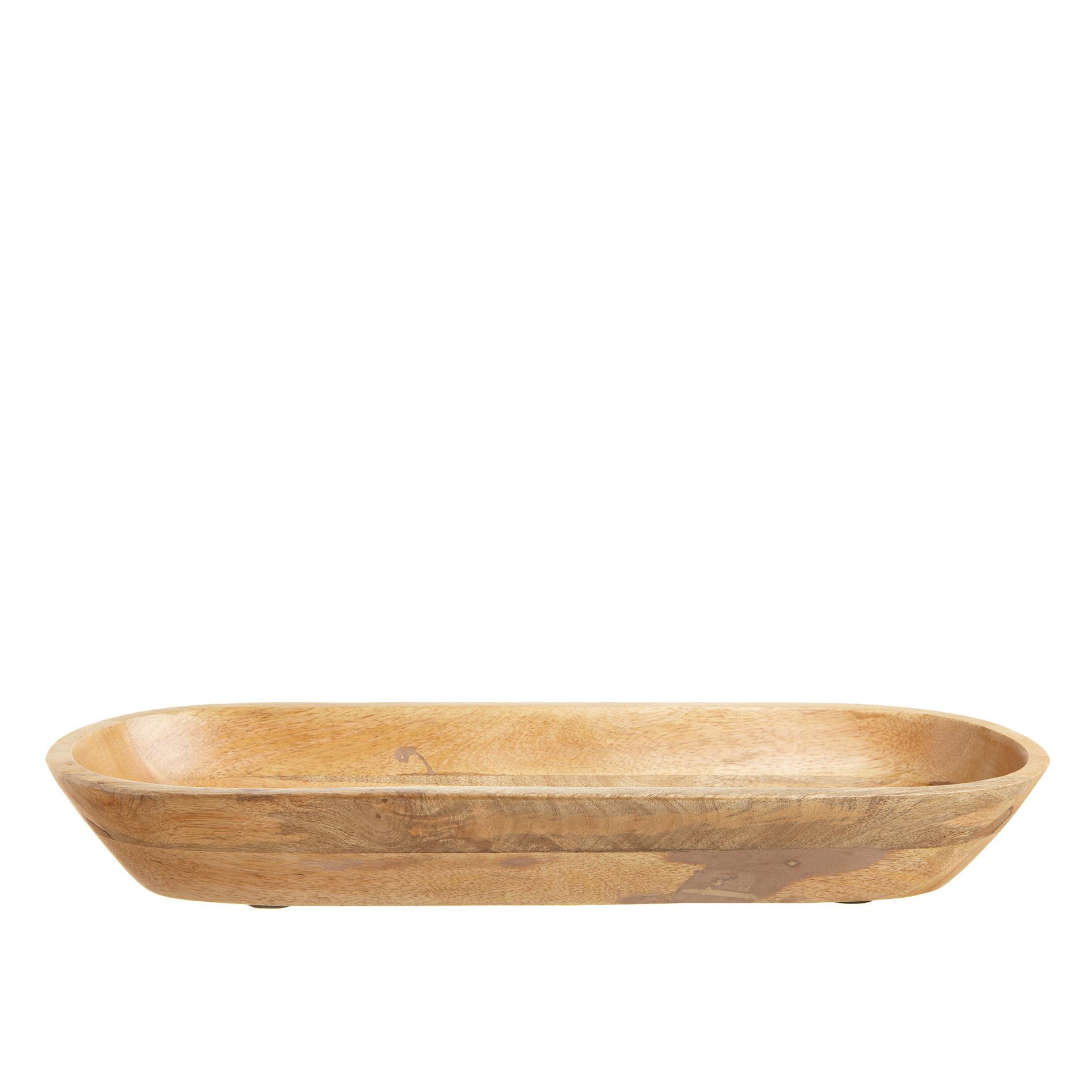 Vassoio in legno, Marrone, large image number 0