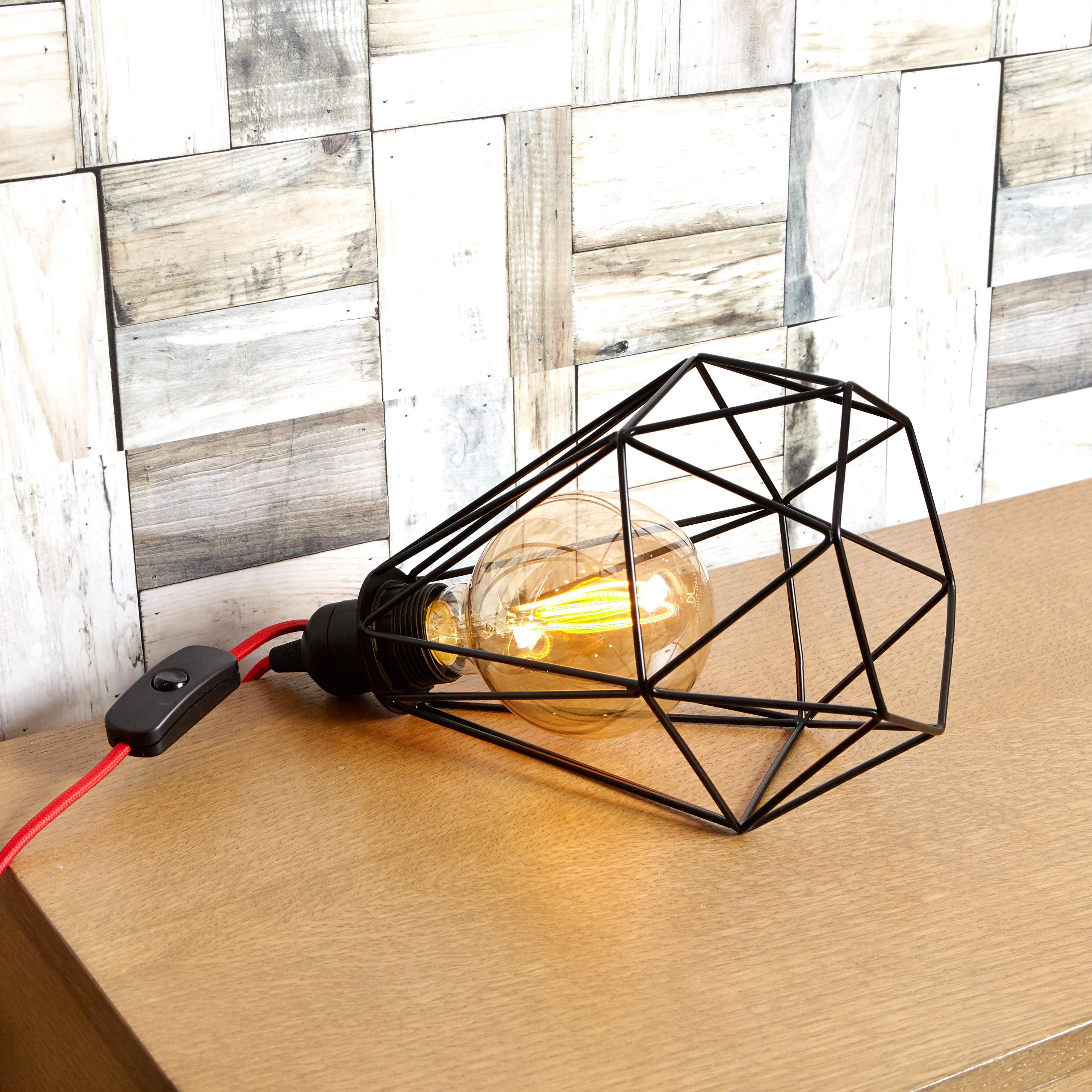 Sospsensione Dogui Desk LEDbyLED, Nero, large image number 2