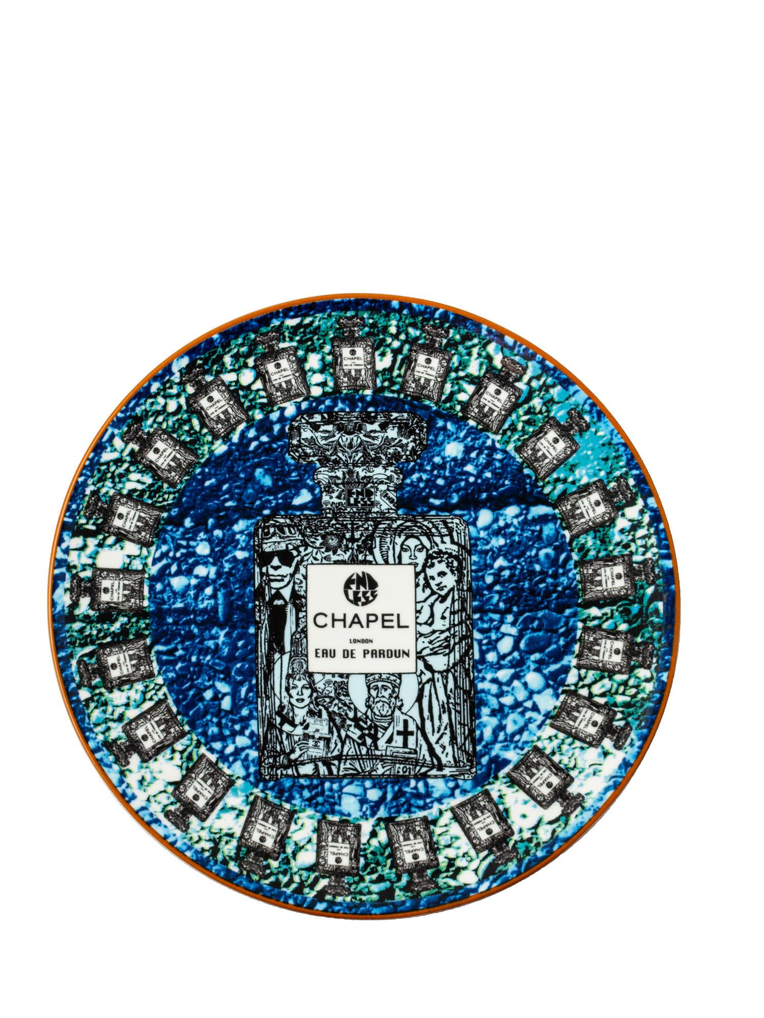 Plate Endless Chapel Blue, Multicolor, large image number 0