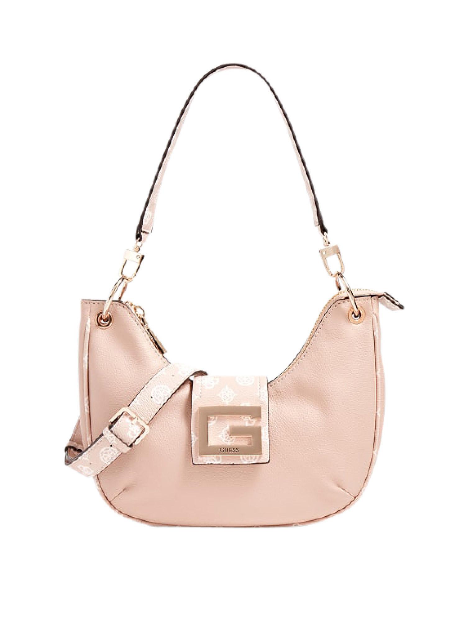 Brightside Hobo Bag, Rosa cipria, large image number 0