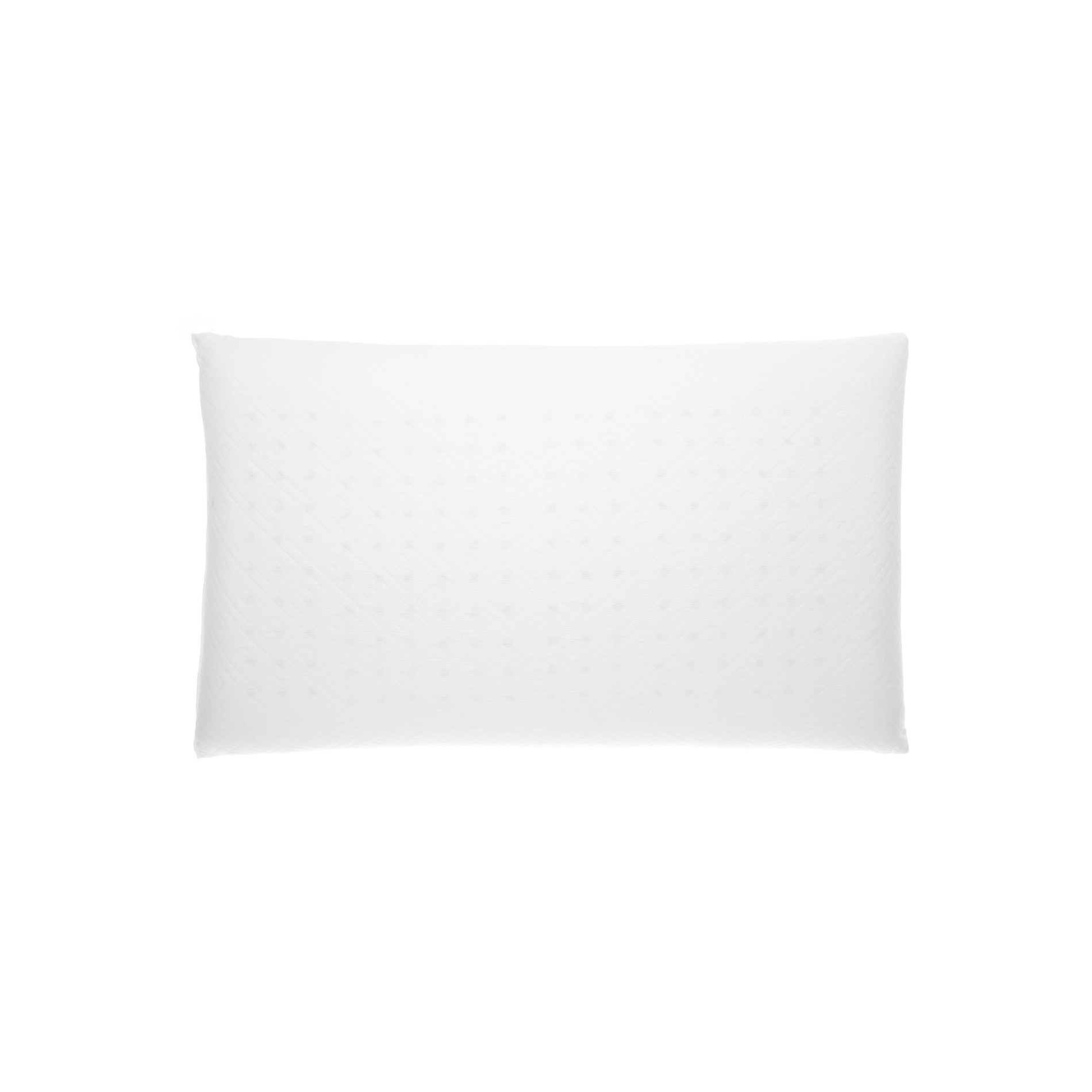 Guanciale memory foam, Bianco, large image number 0