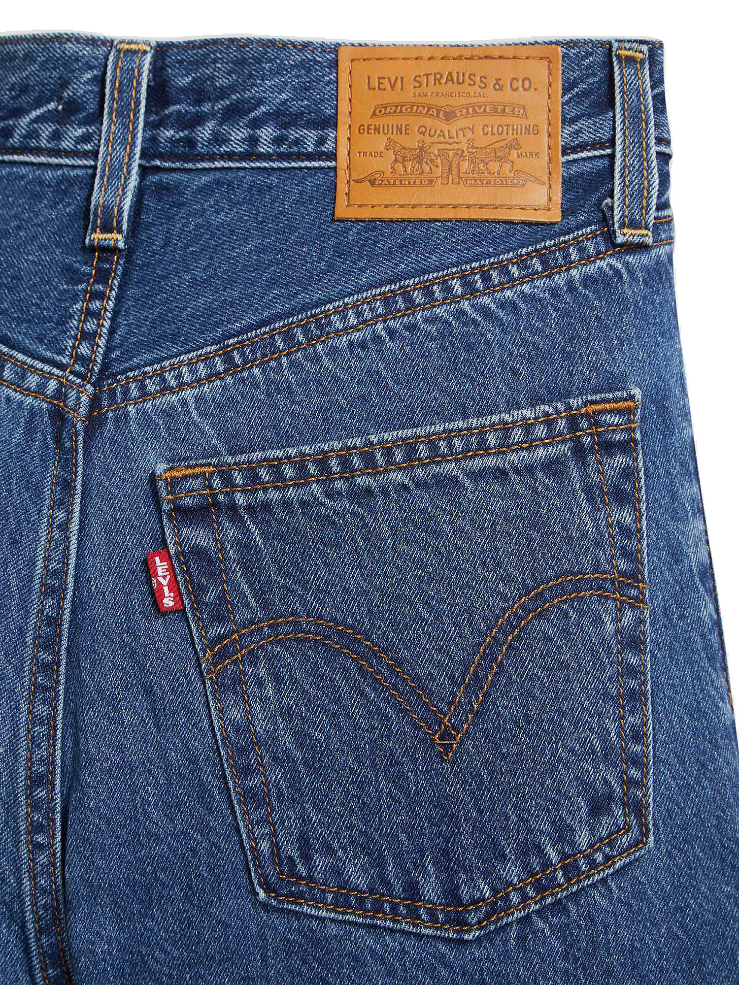 Jeans donna ribcage straight ankle, Denim, large image number 5