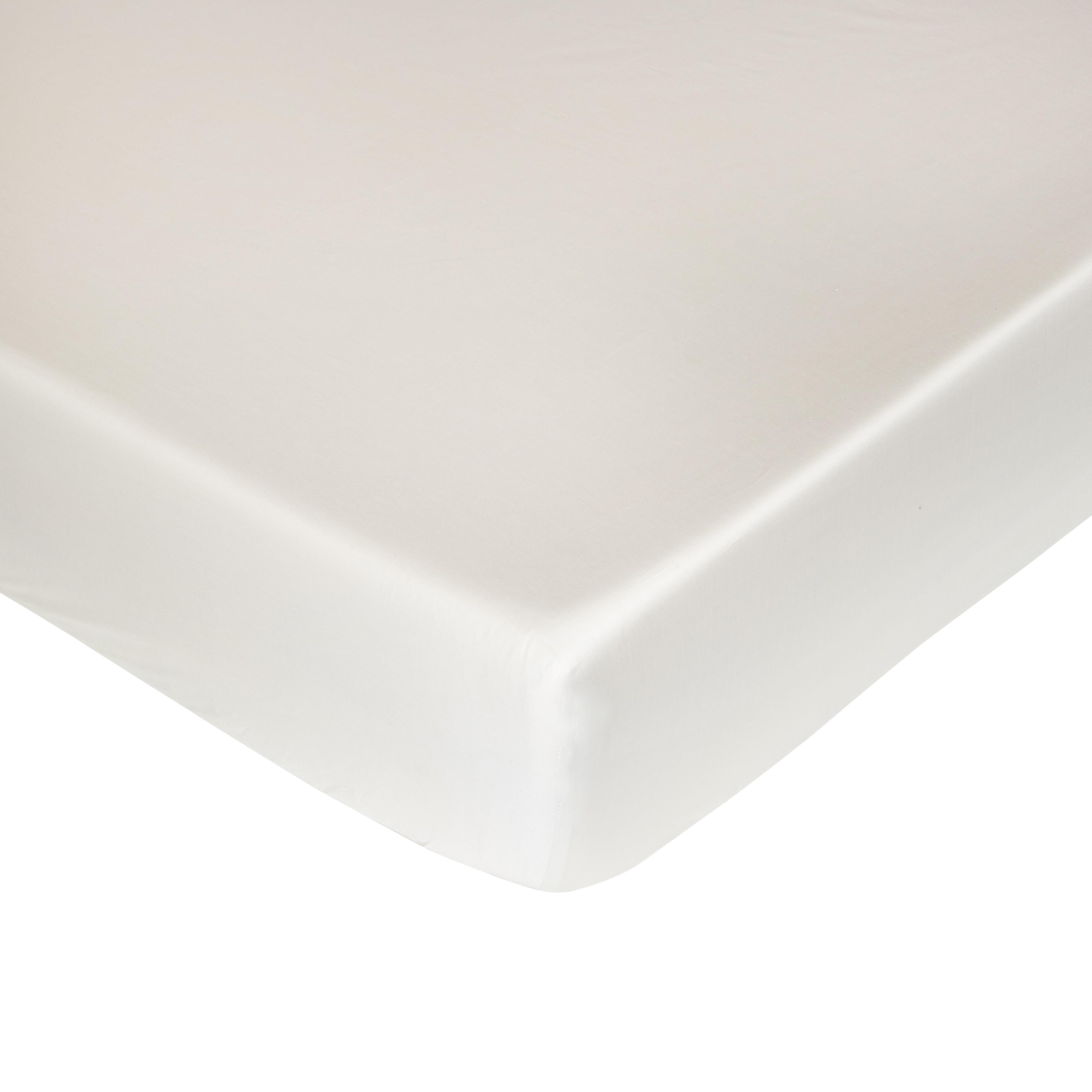 Lenzuolo angoli raso alta qualità Interno 11, Crema, large image number 0