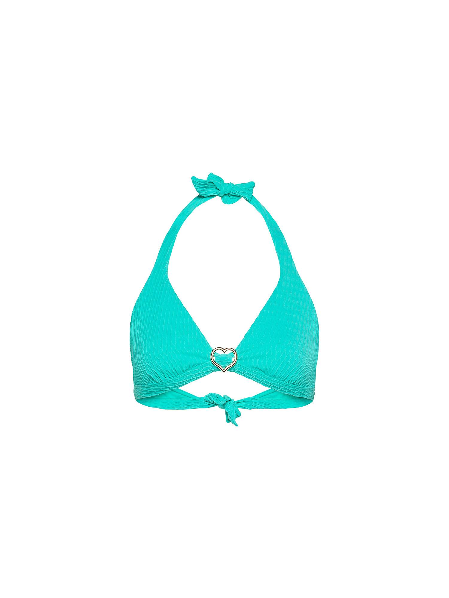 Top bikini triangolo, Nero, large image number 0
