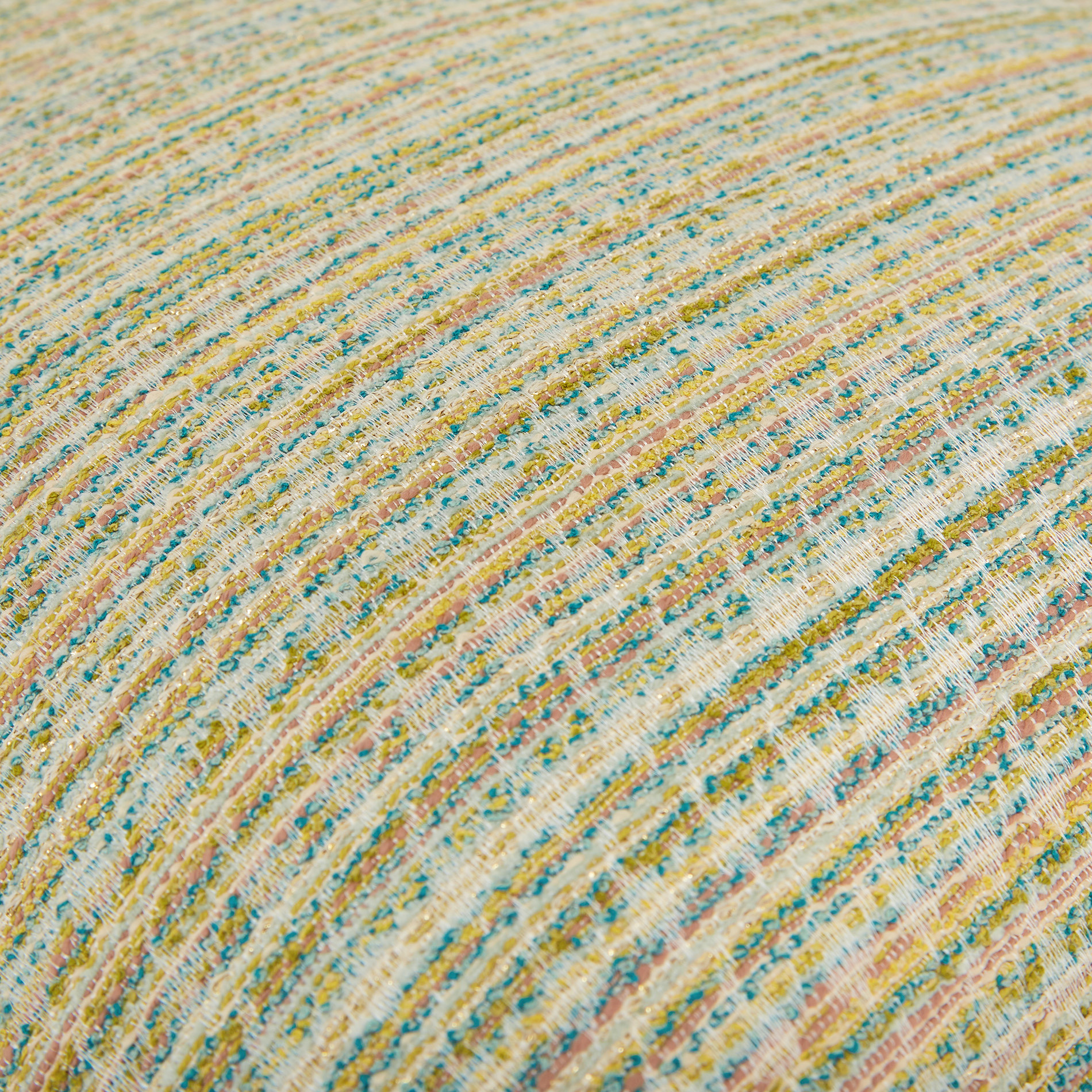 Cuscino jacquard motivo multicolore 45x45cm, Multicolor, large image number 3