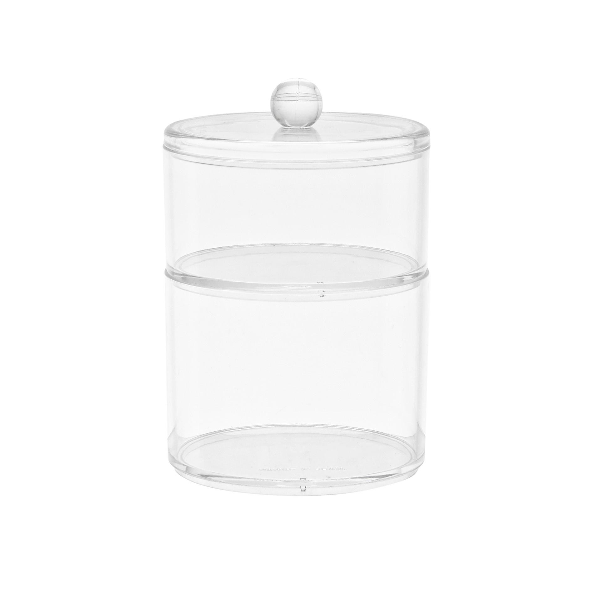 Storage 2 ripiani in vetro, Trasparente, large image number 0
