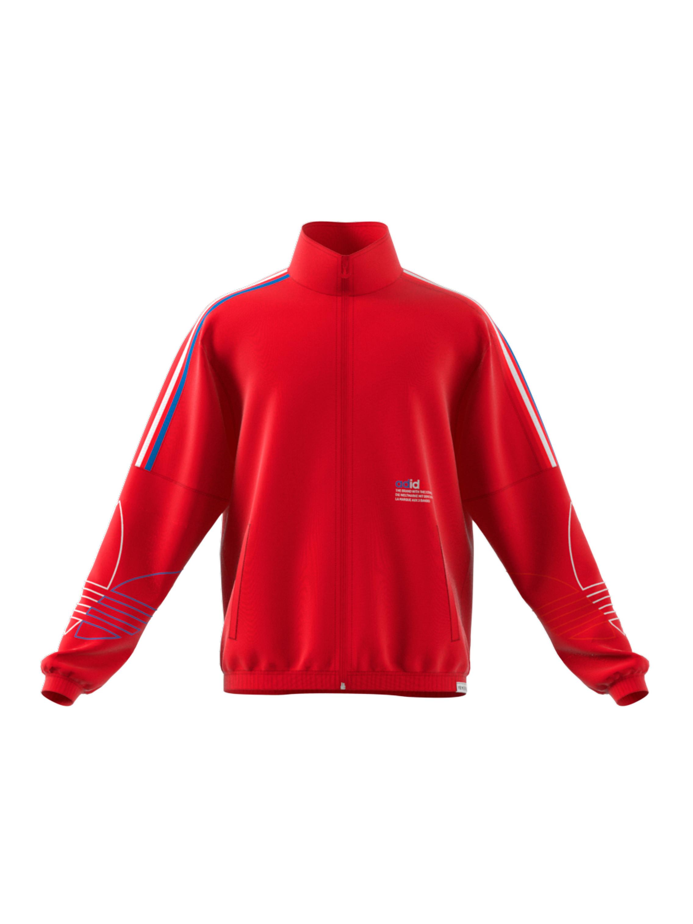 Giacca tuta adicolor FTO Track Jacket, Rosso, large image number 0