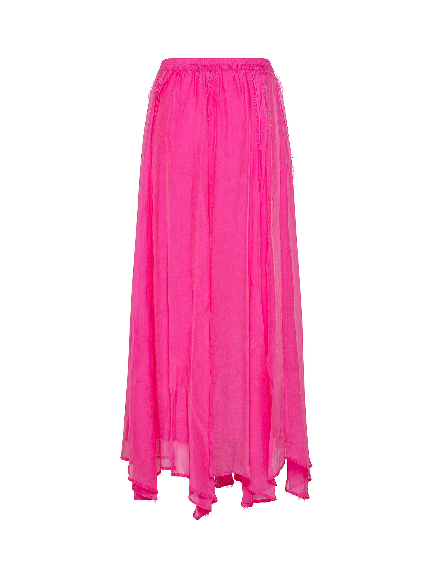 Gonna in chiffon  Chili, Rosa fuxia, large image number 1