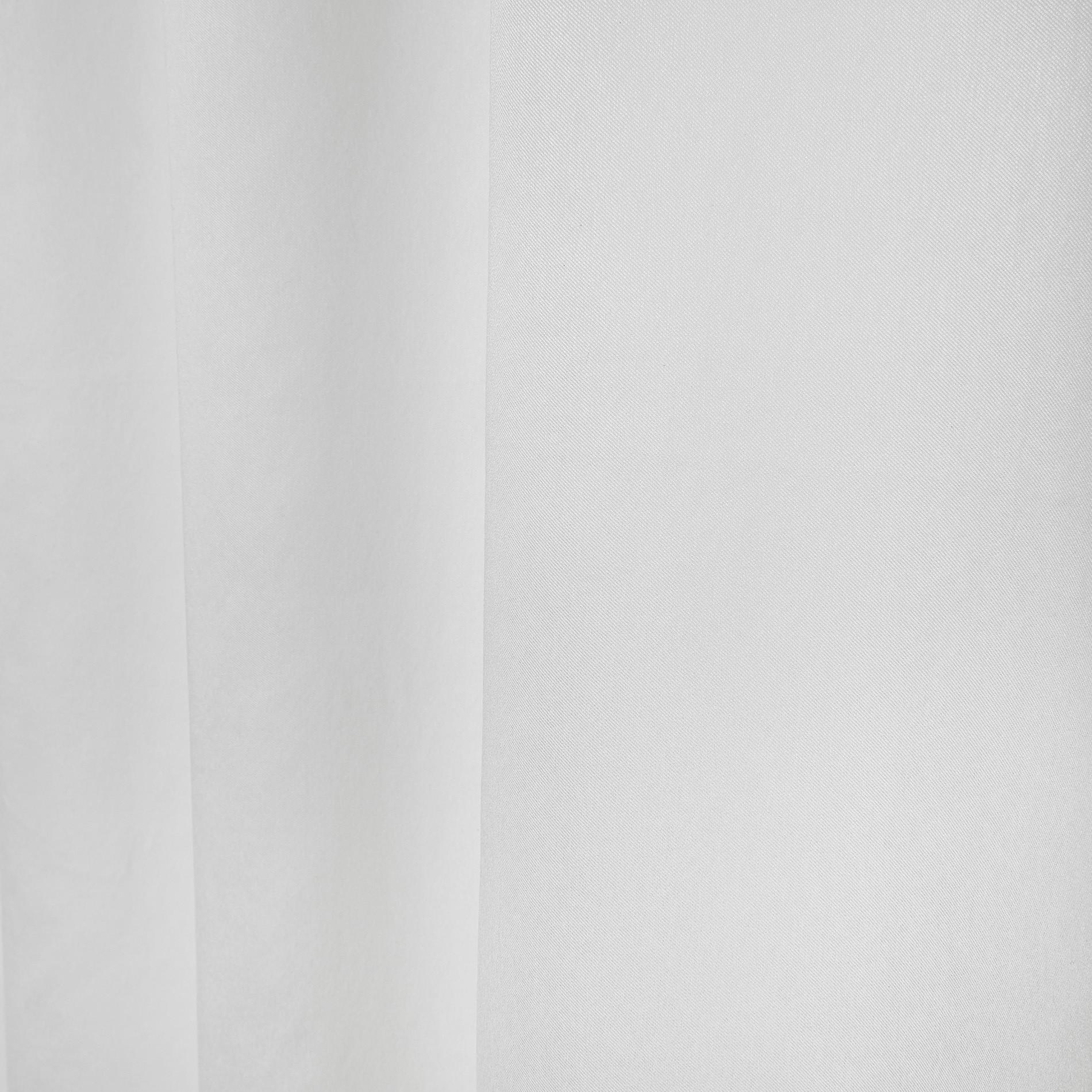 Tenda misto viscosa passanti nascosti, Bianco ghiaccio, large image number 3