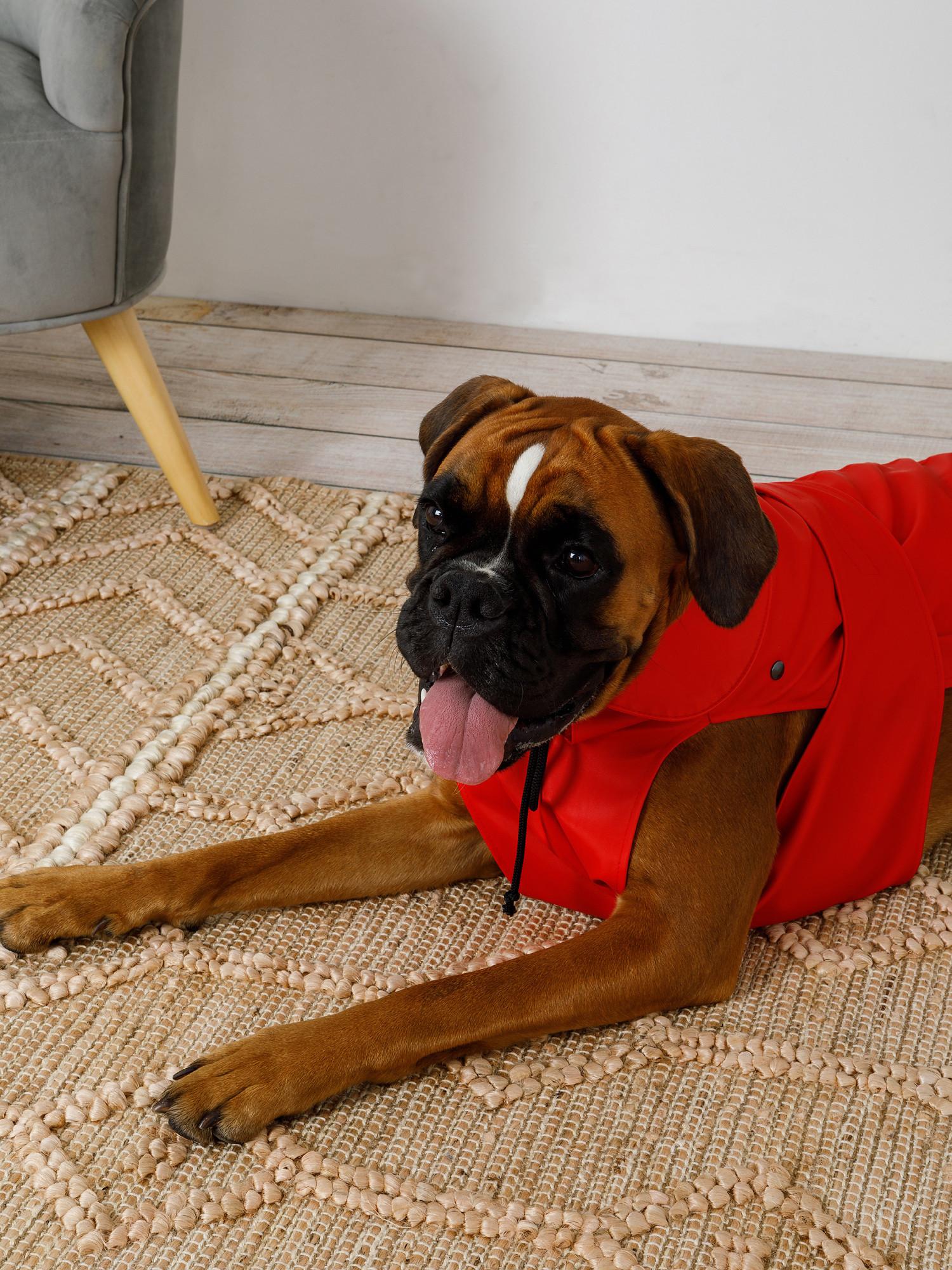 Cappottino tessuto impermeabile traspirante London, Rosso, large image number 0