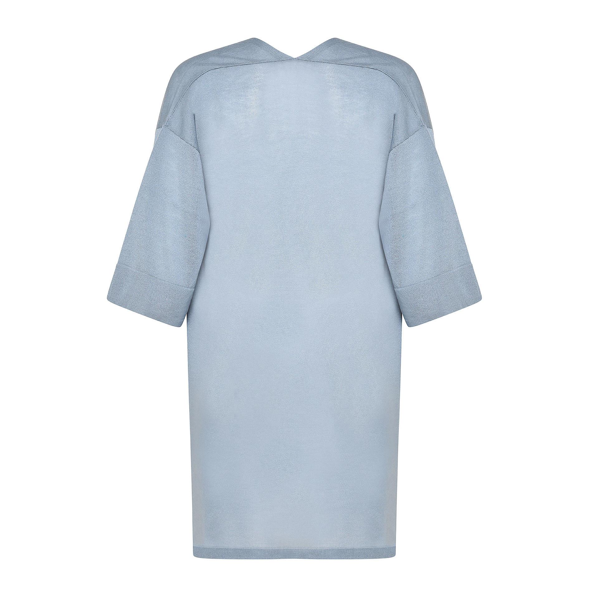 Cardigan over maglia leggera Koan, Azzurro, large image number 1