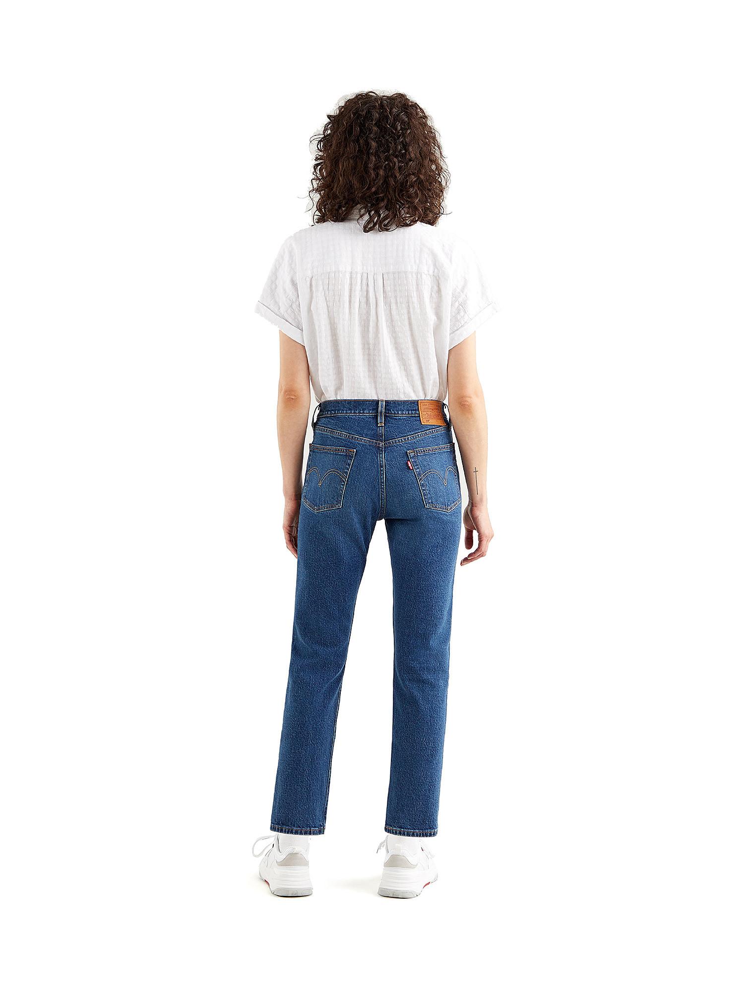 Jeans donna 501 crop, Denim, large image number 1