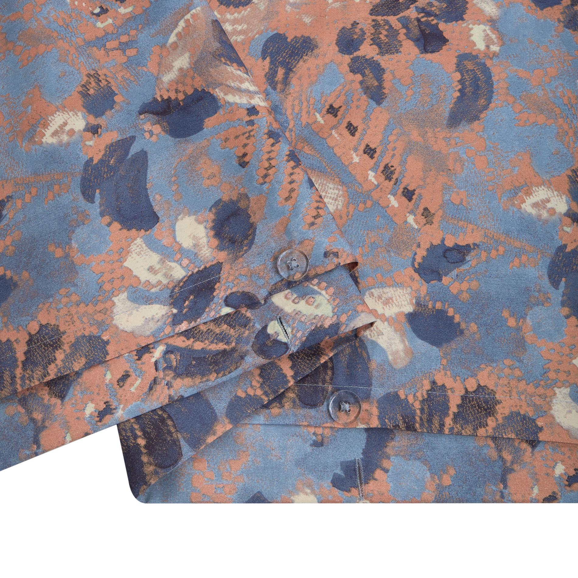 Copripiumino cotone biologico fantasia floreale, Corda, large image number 3