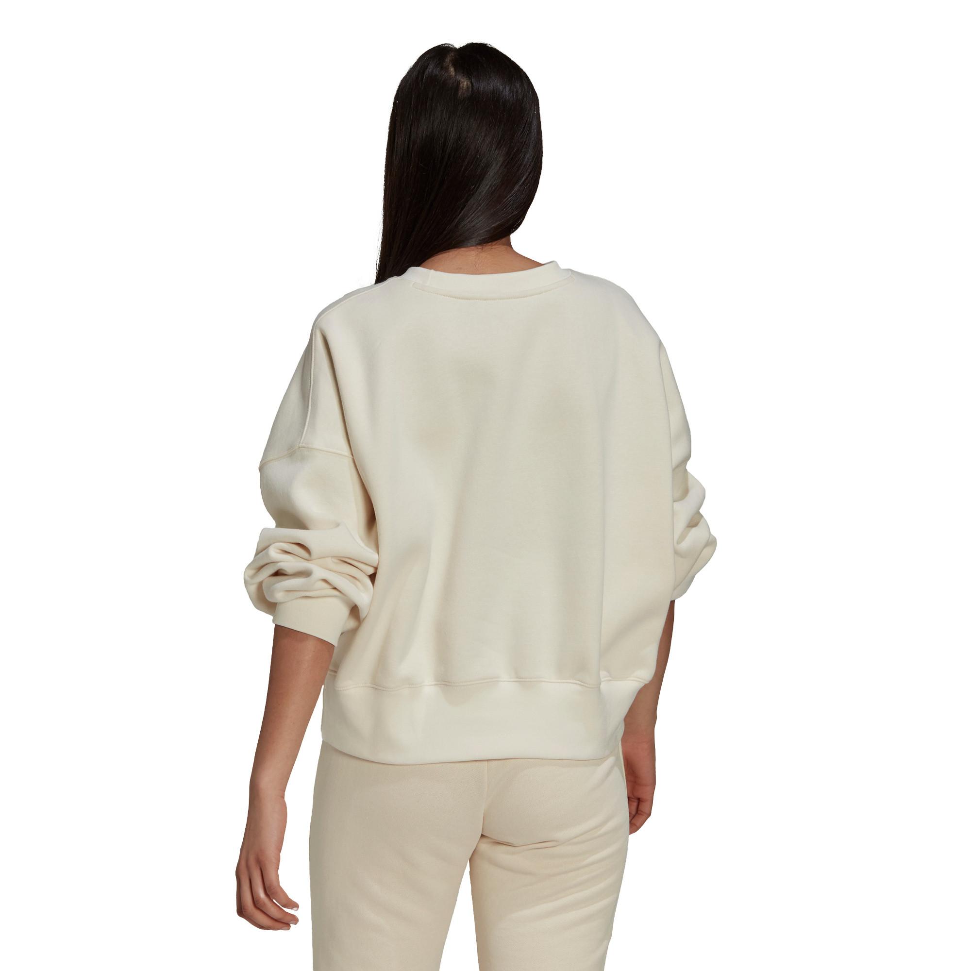Felpa adicolor Essentials Fleece, Bianco, large image number 3