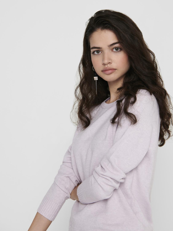 Pullover donna, Rosa, large image number 2