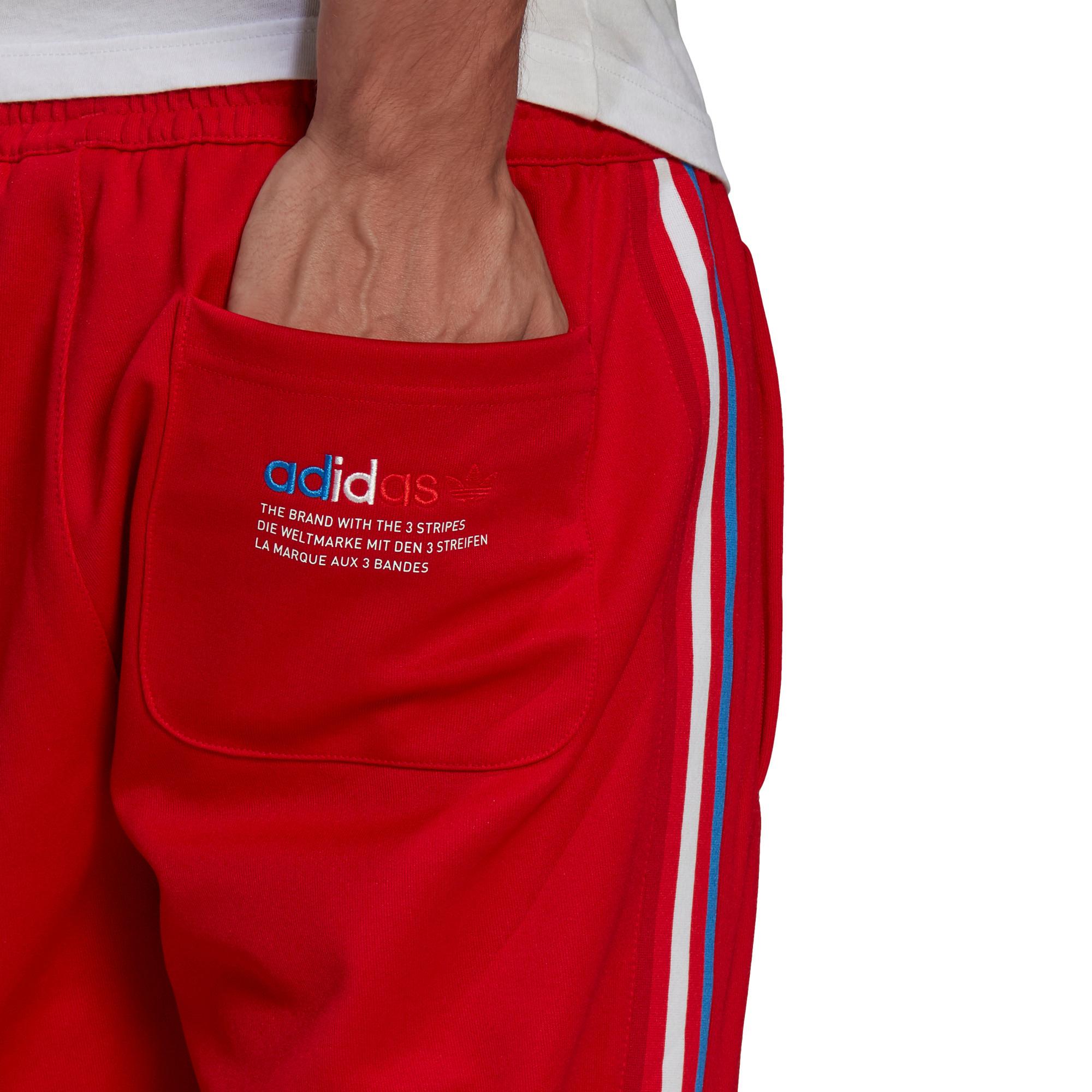 Pantaloni tuta adicolor, Rosso, large image number 4