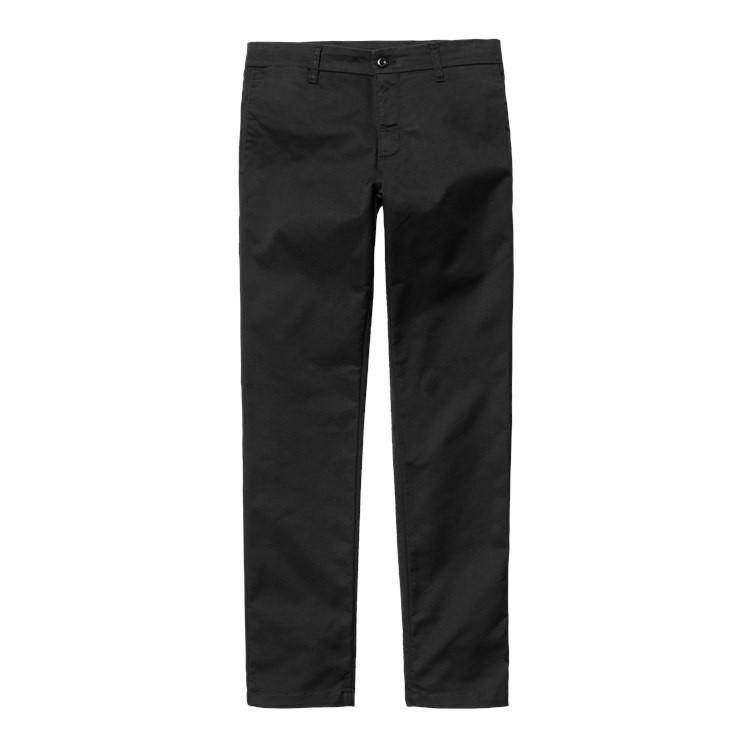 Pantaloni Sid, Nero, large image number 0