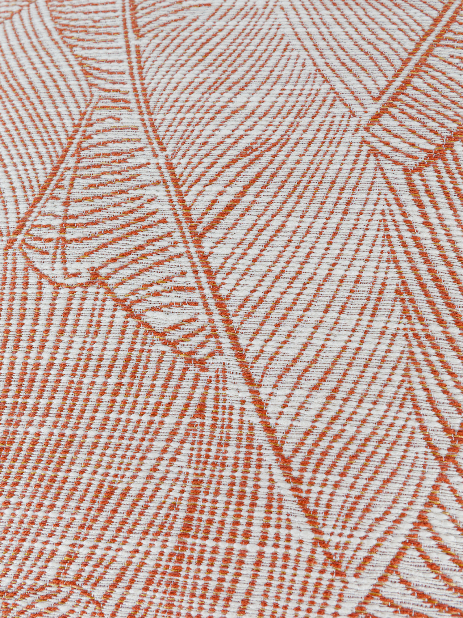 Cuscino tessuto jacquard foliage 50x50cm, Multicolor, large image number 2