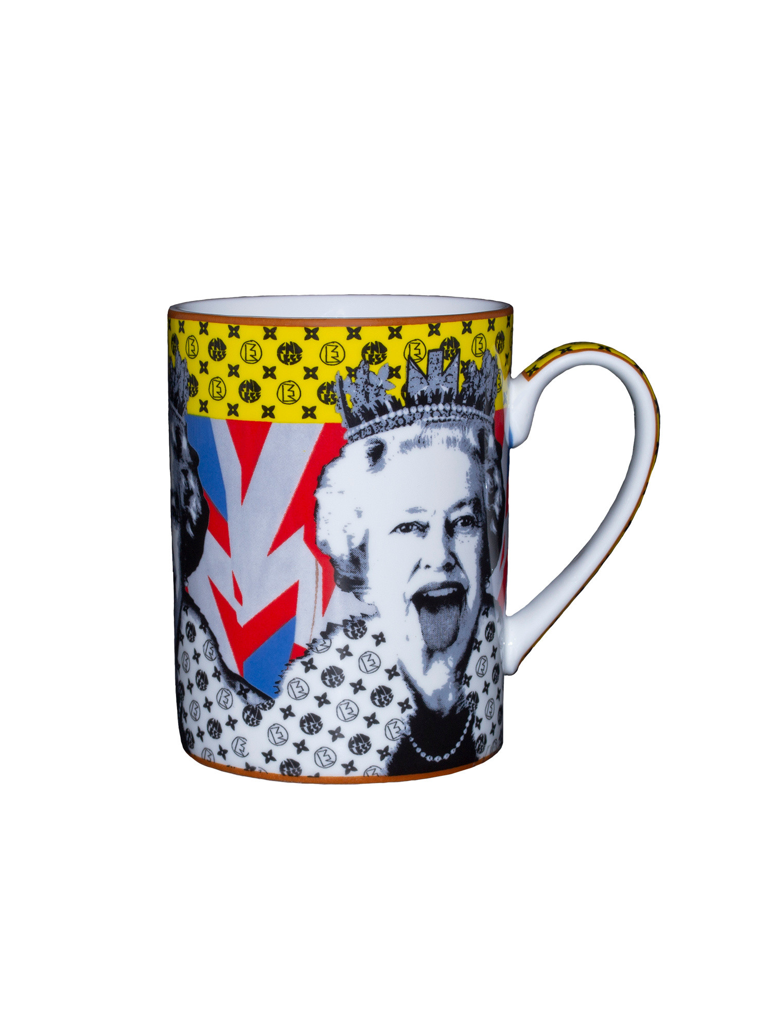 Mug design Lizzy Vuitton di Endless, Multicolor, large image number 0