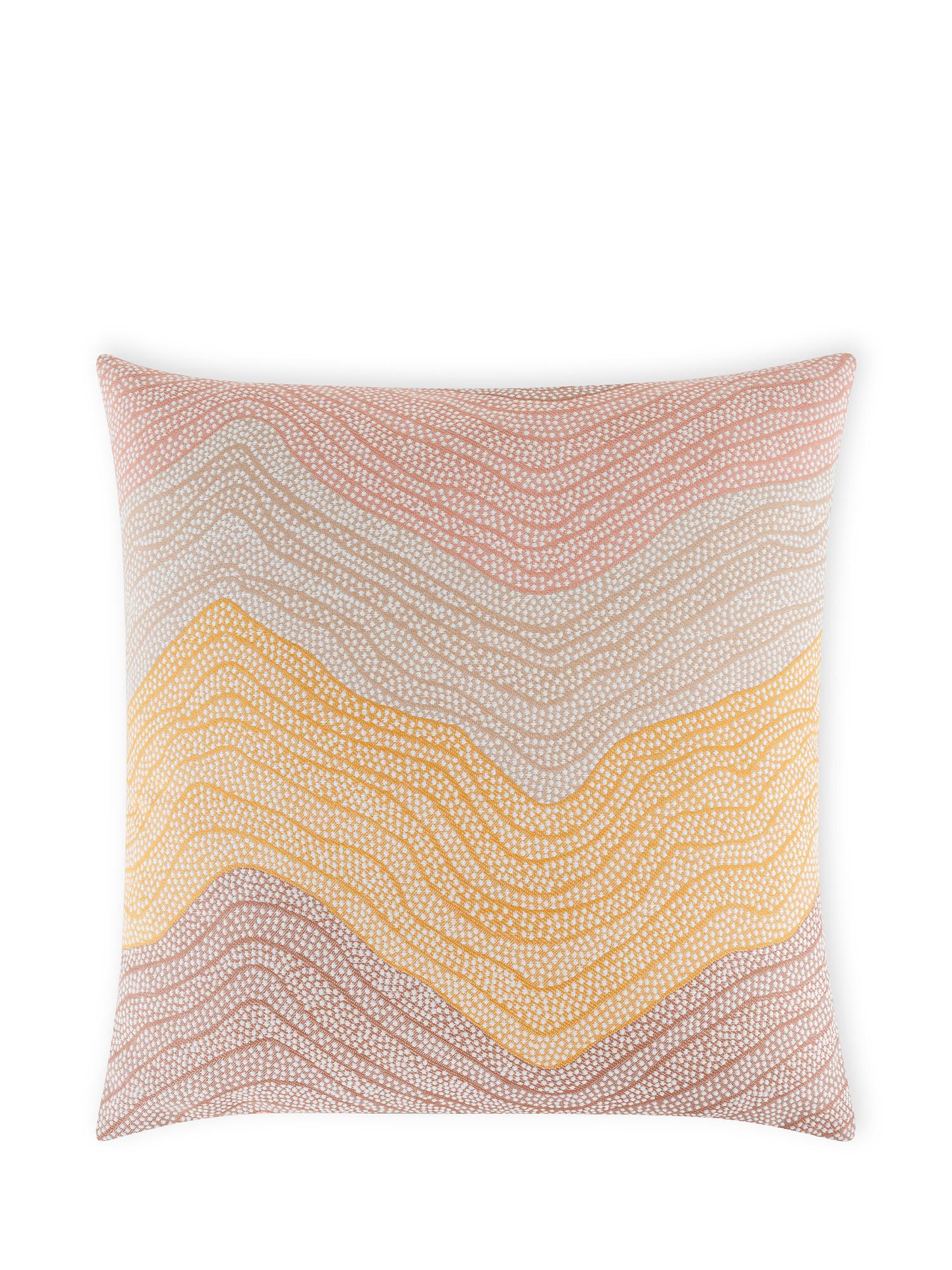Cuscino tessuto jacquard spalmato 43x43cm, Multicolor, large image number 0