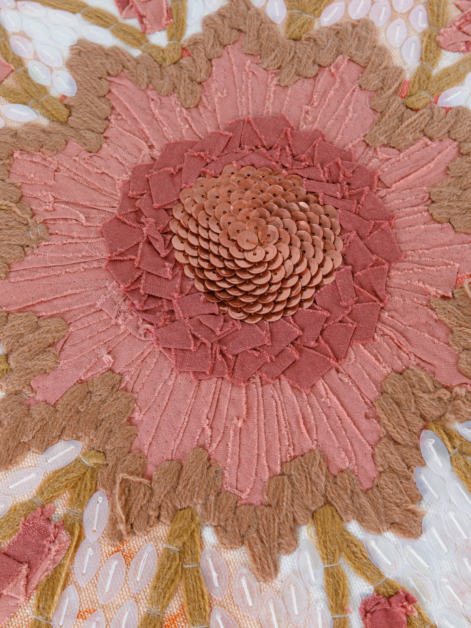 Cuscino cotone effetto tie dye 45x45cm, Multicolor, large image number 2