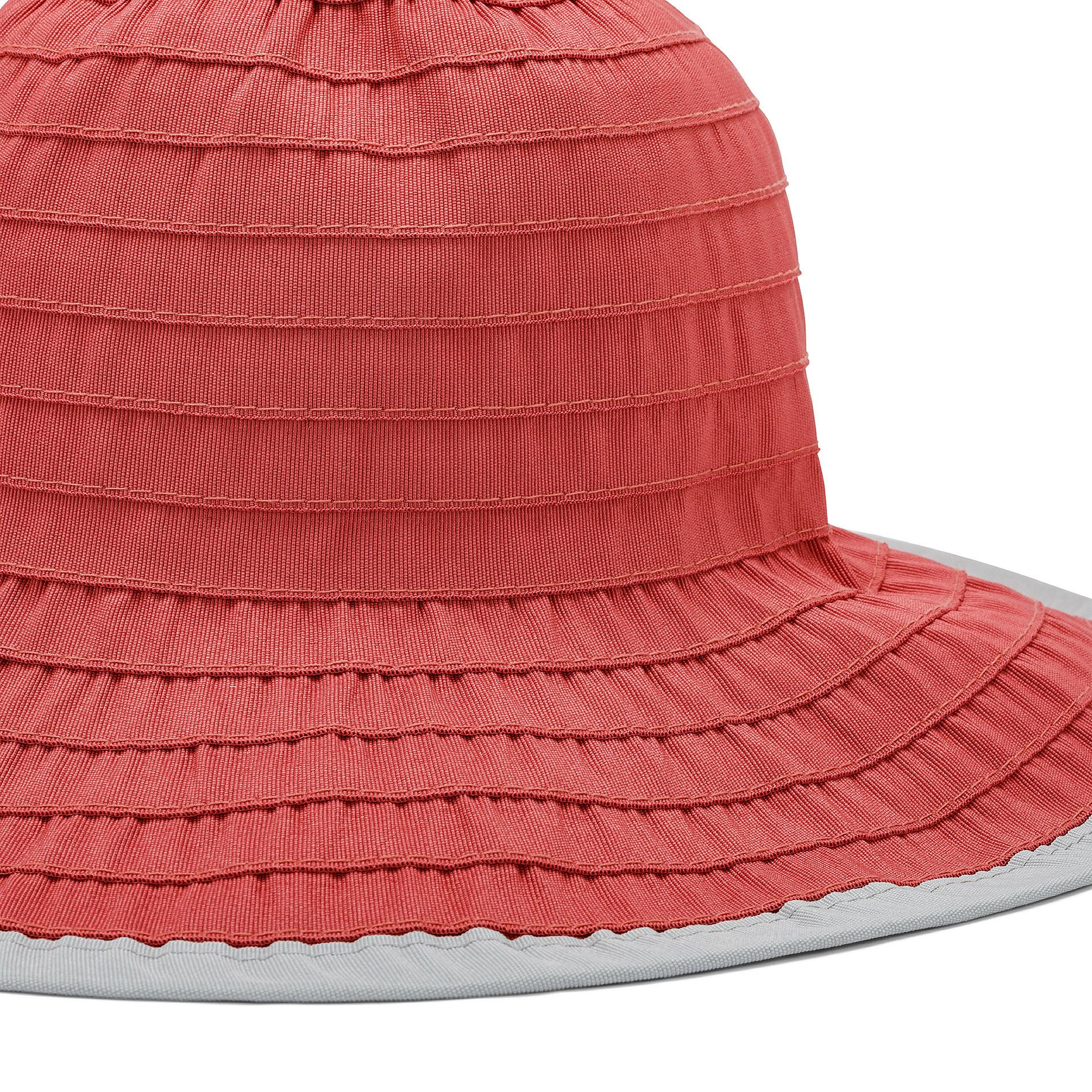 Cappello con effetto riga Koan, Rosso, large image number 1