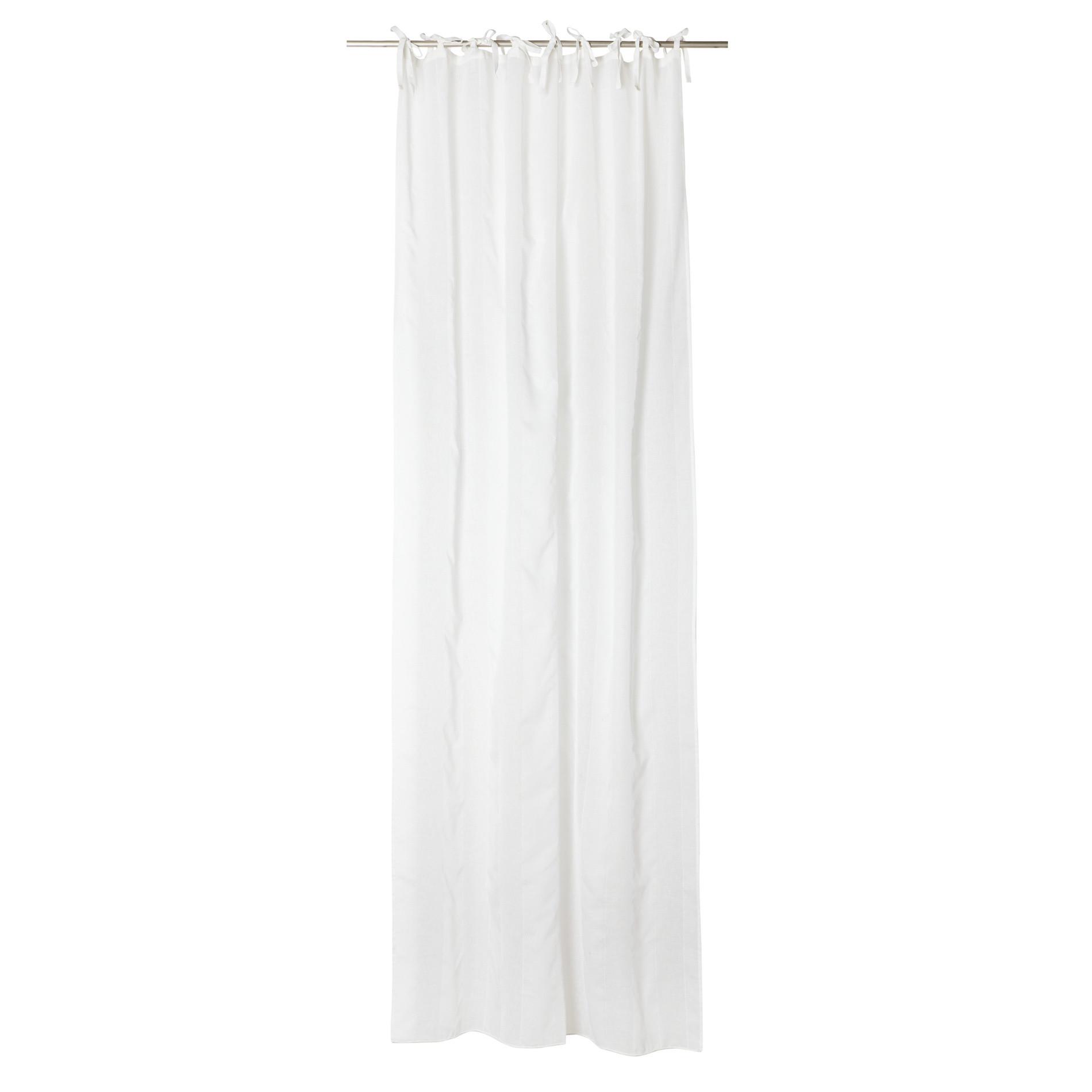 Tenda strisce verticali, Bianco, large image number 1