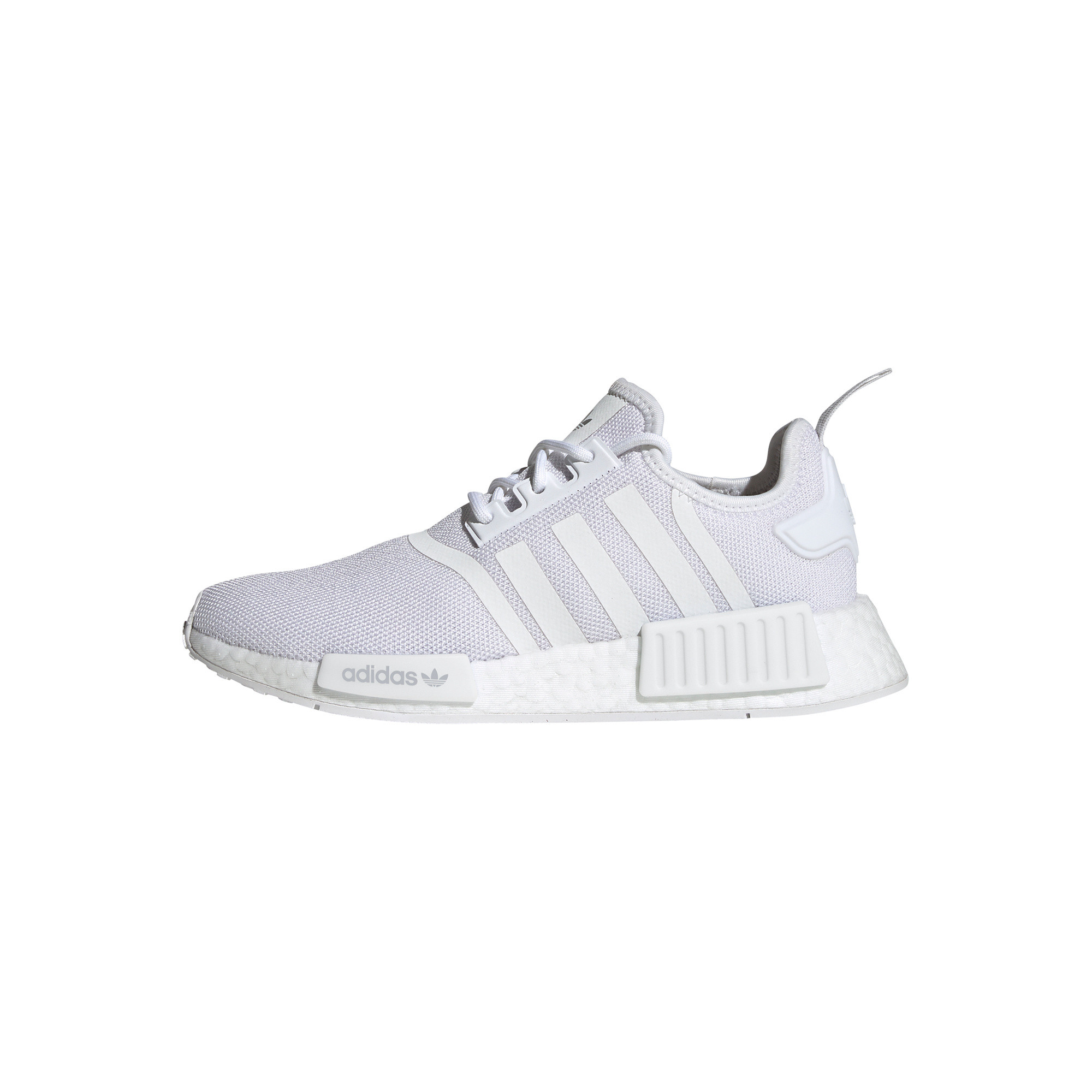 Scarpe donna Adidas Originals NMD_R1 Primeblue, Bianco/Grigio, large image number 9