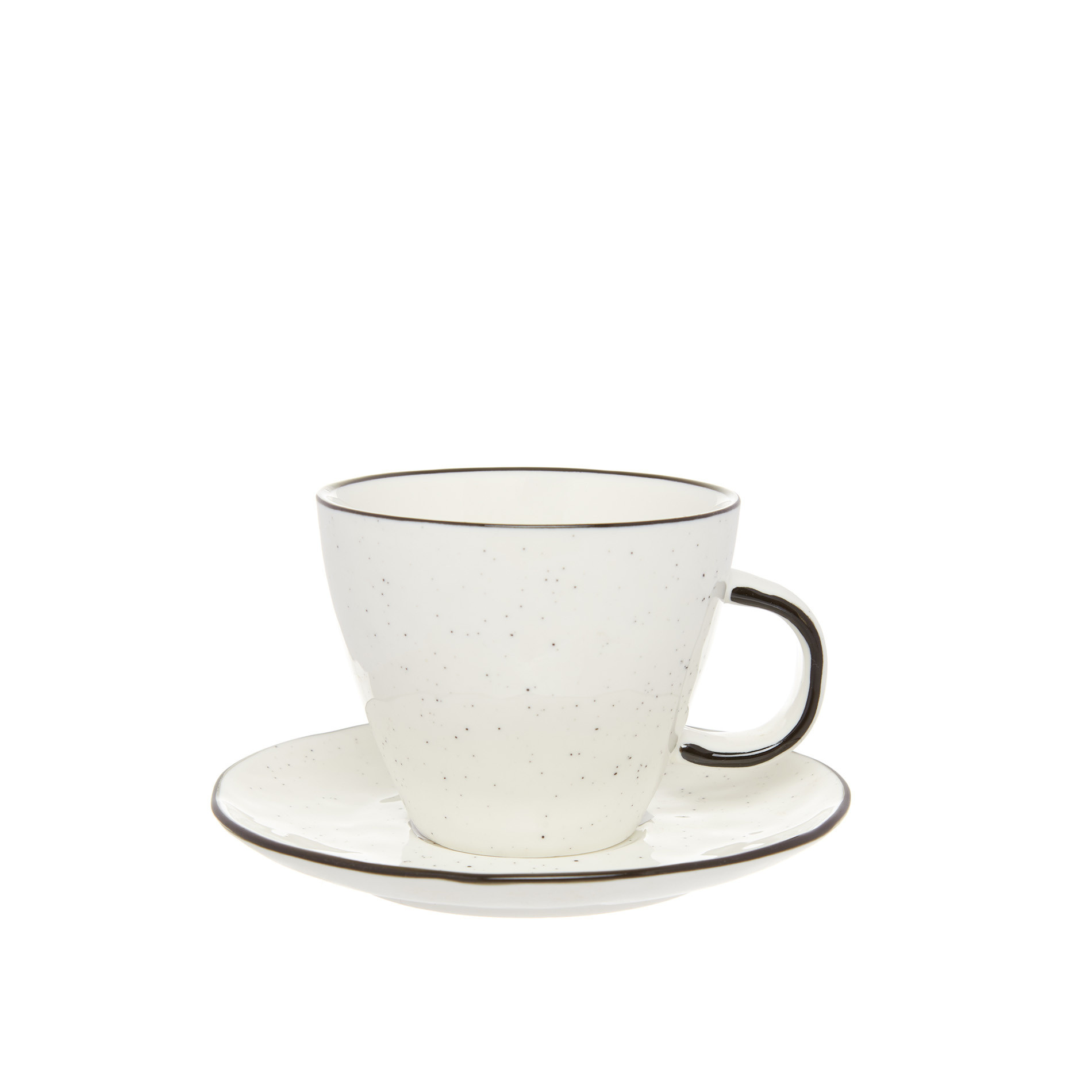 Tazza tè porcellana Ginevra, Bianco, large image number 0
