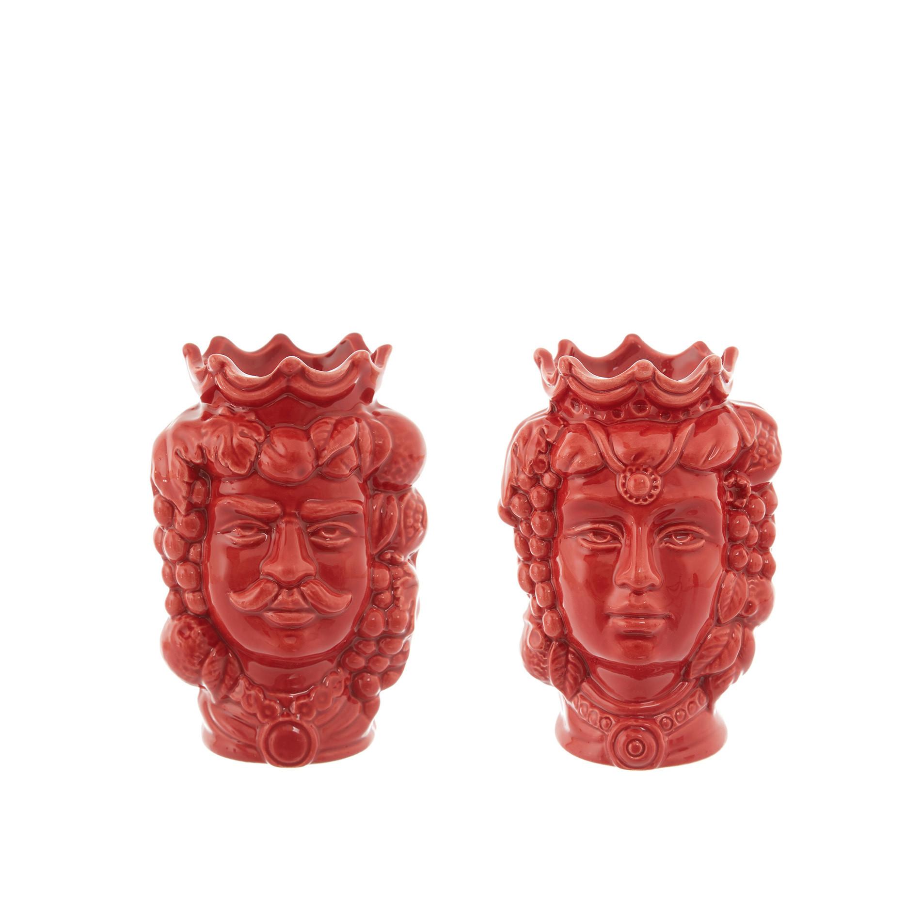 Testa di moro by Ceramiche Siciliane Ruggeri, Rosso, large image number 5
