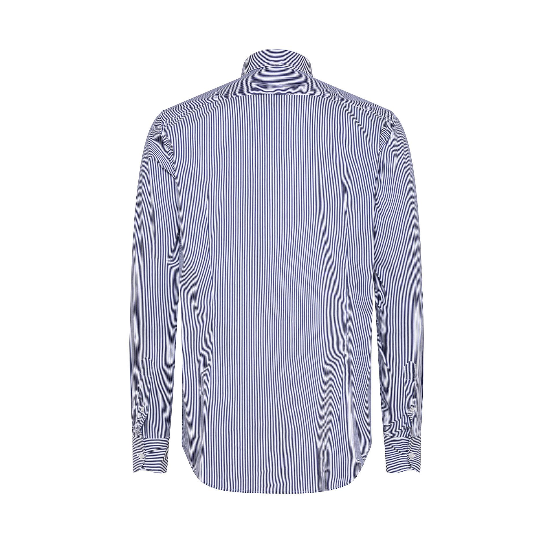 Camicia button-down popeline di cotone, Azzurro polvere, large image number 1