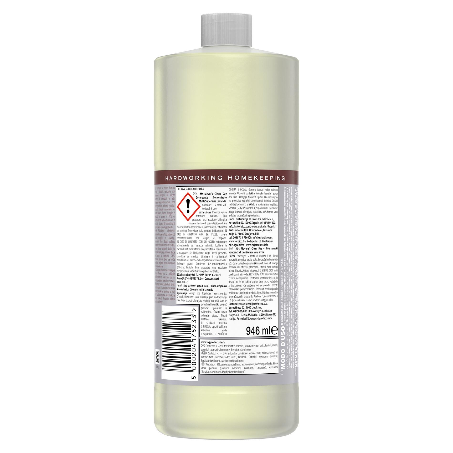 Detergente concentrato multi-supericie profumo di lavanda 946ml, Grigio, large image number 1