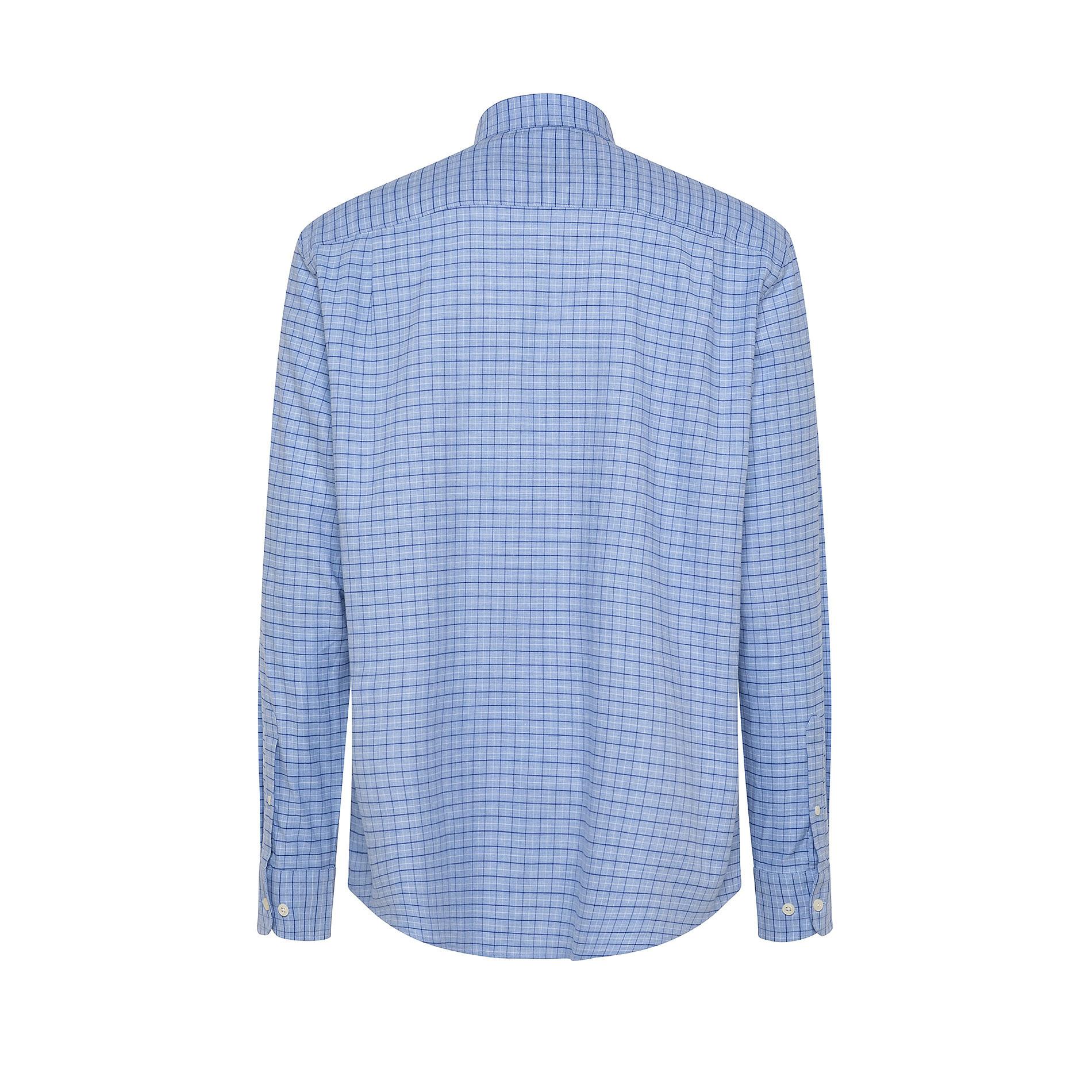 Camicia button-down regular fit in cotone organico, Azzurro, large image number 1