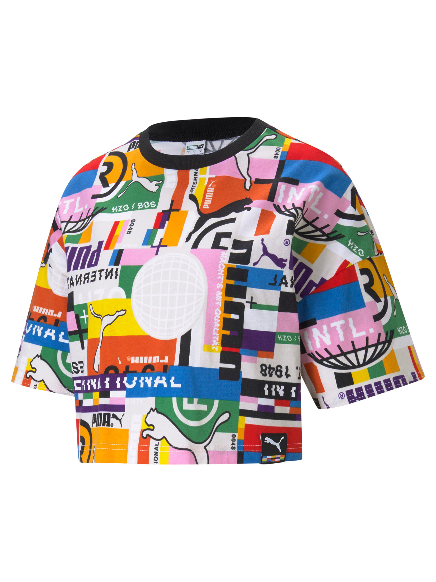 T-shirt donna, Bianco, large image number 0