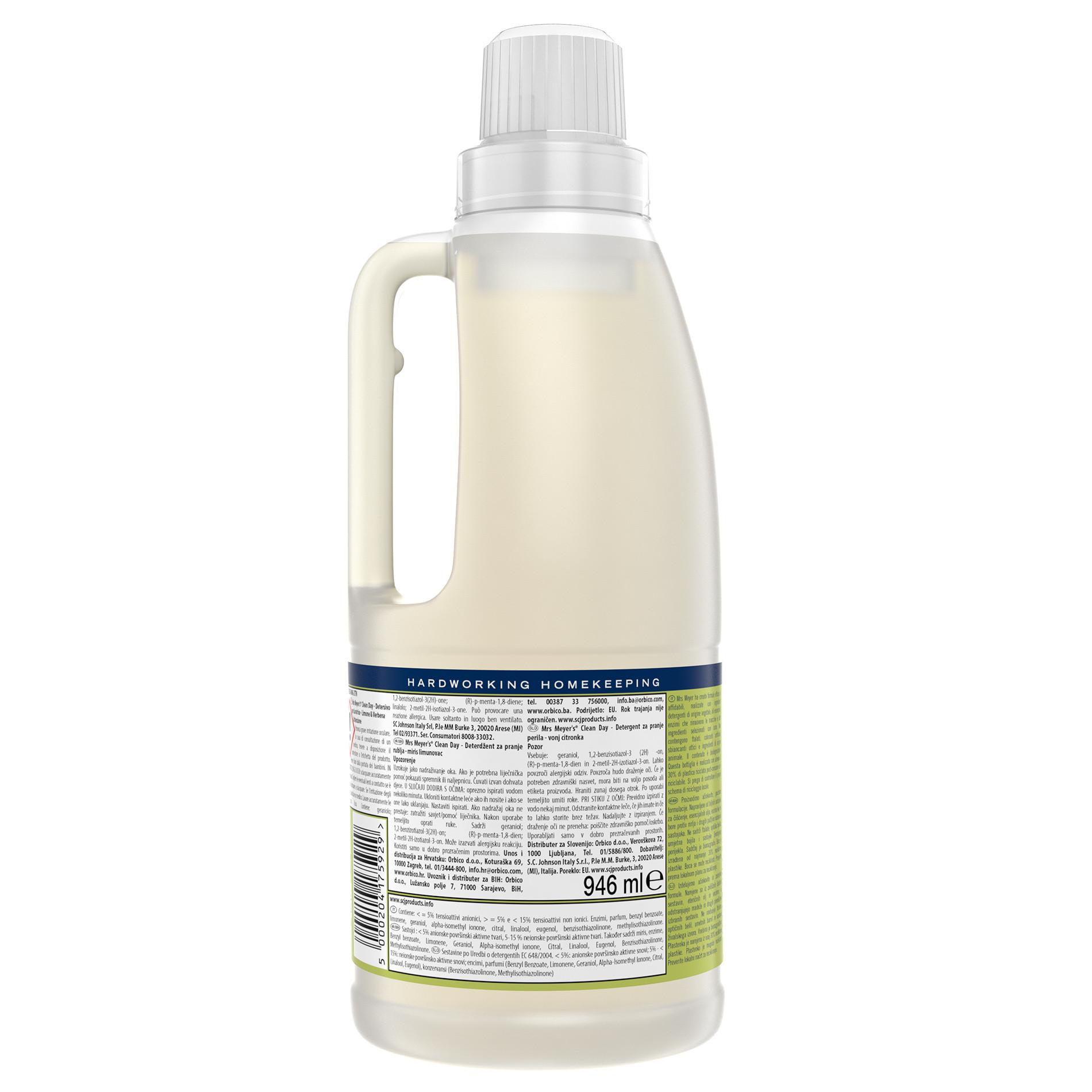 Detersivo per lavatrice profumo di limone 1.8l, Giallo scuro, large image number 1