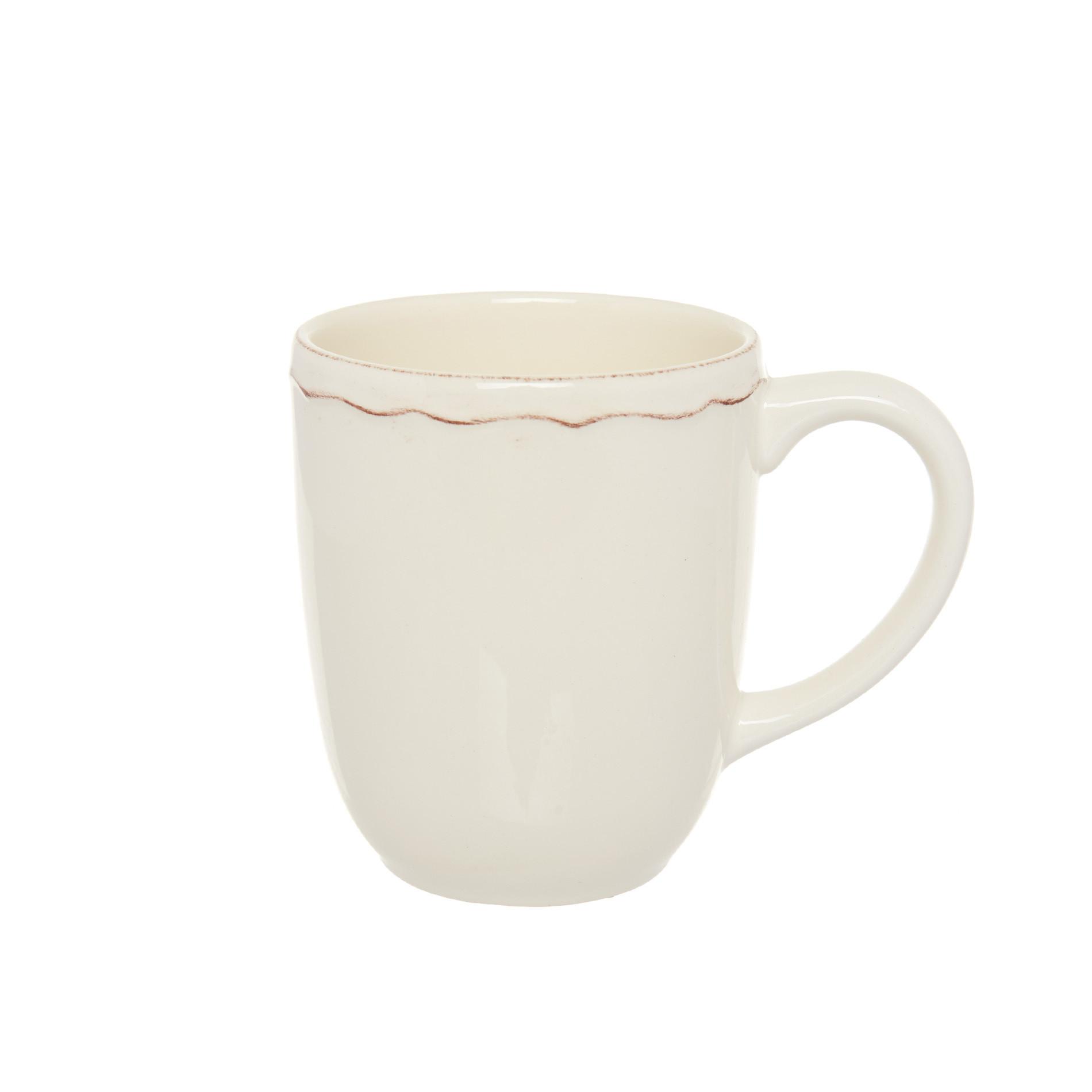 Mug ceramica Dona Maria, Bianco panna, large image number 0