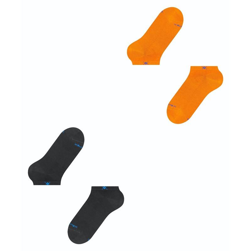 Fantasmini uomo everyday 2-Pack, Arancione, large image number 4